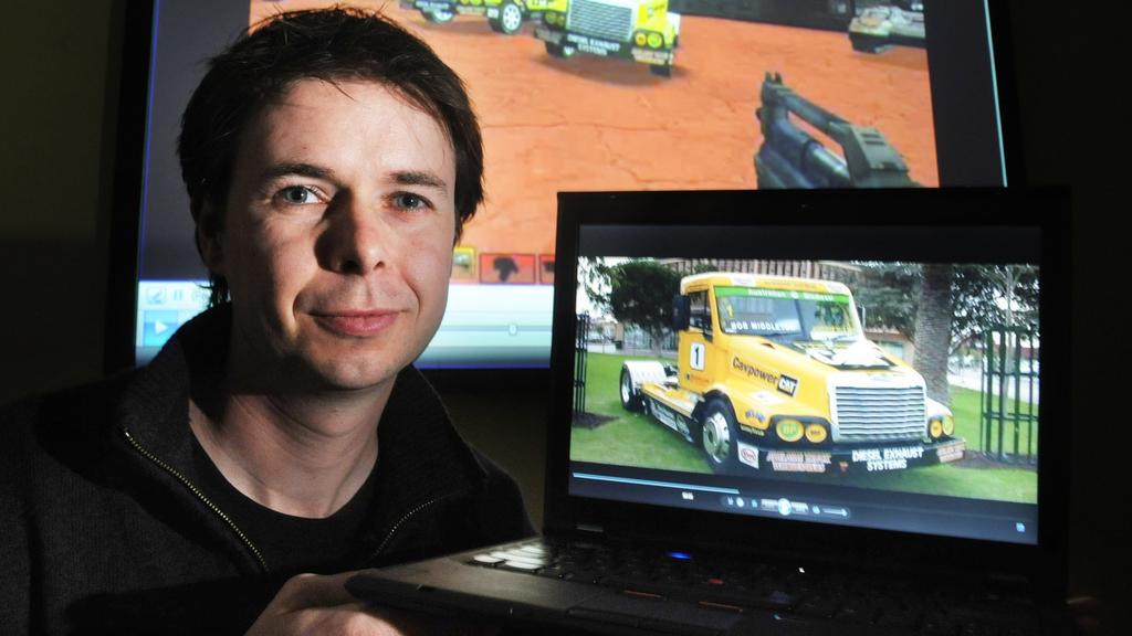 Adelaide University professor Anton van den Hengel.
