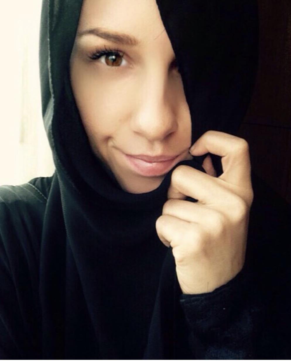 Me in my traditional Abaya