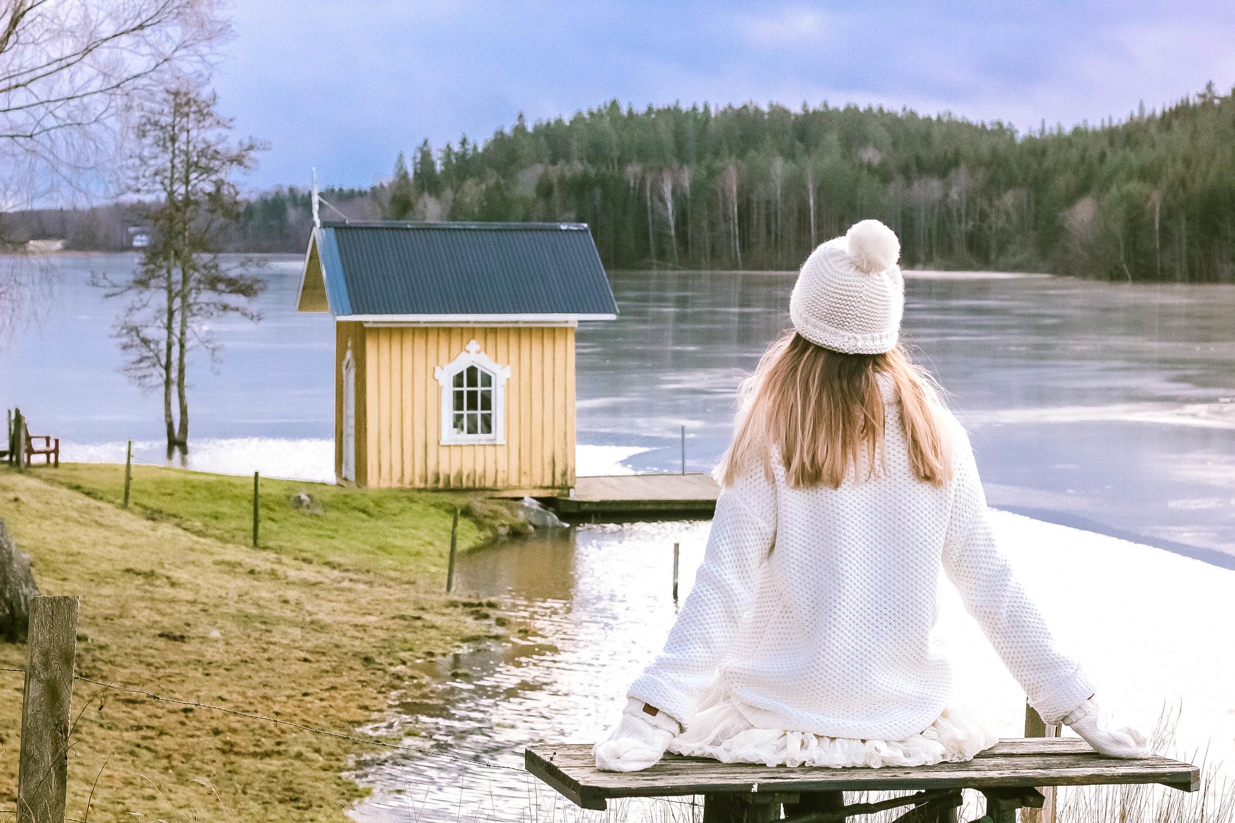 Swedish beautiful countryside