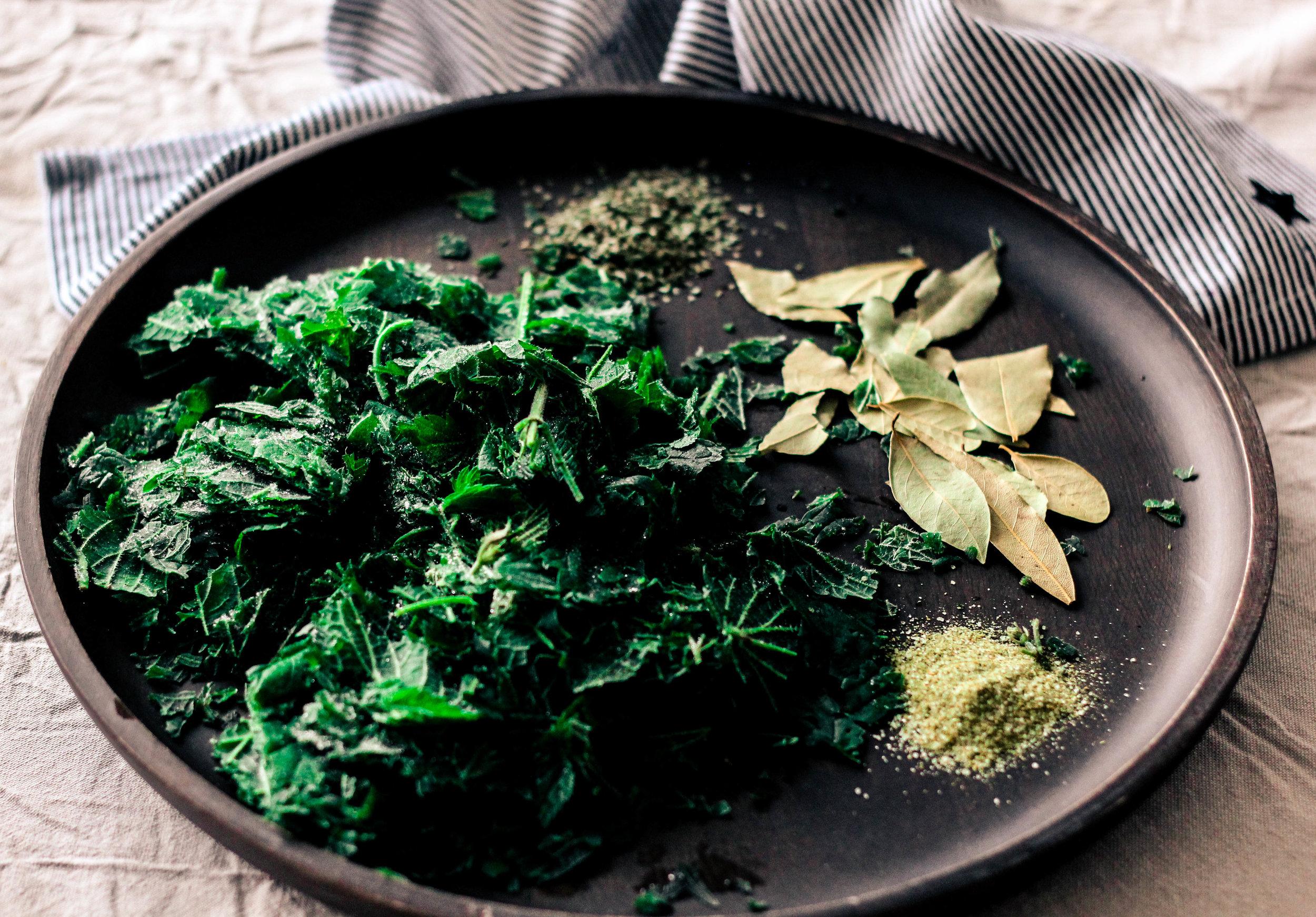 Healthy detox and natural cleanse leafy greens and herbs Photo Linda Haggh.jpg