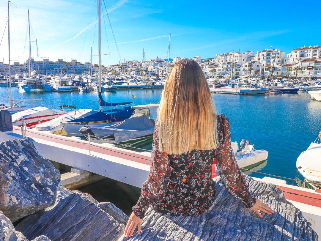 Spain Marbella blue ocean puerto banus wanderlust travel Photo by Linda Haggh.jpg