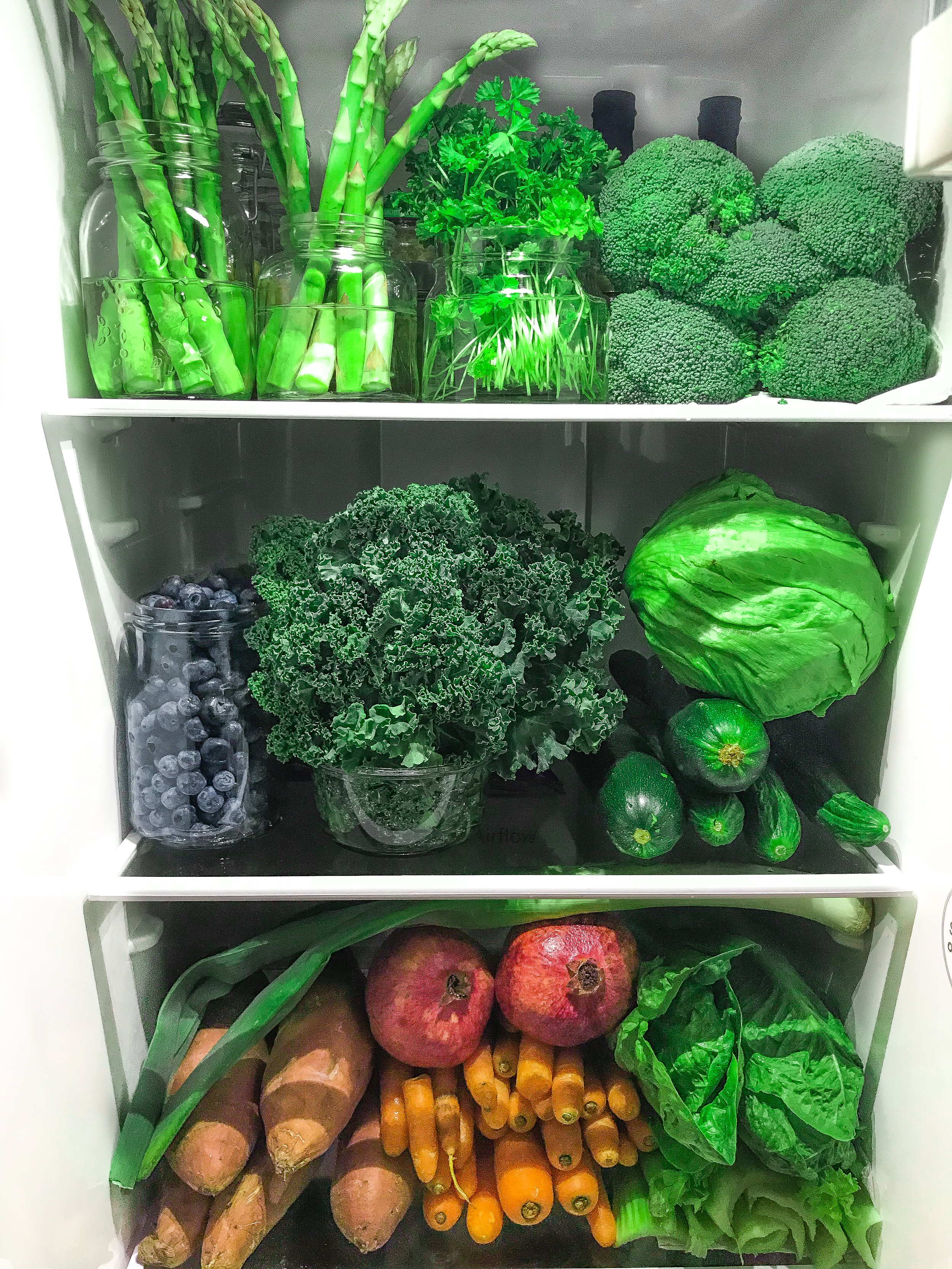 My fridge health and greens veggies healthy clean eating by Linda Haggh.jpg