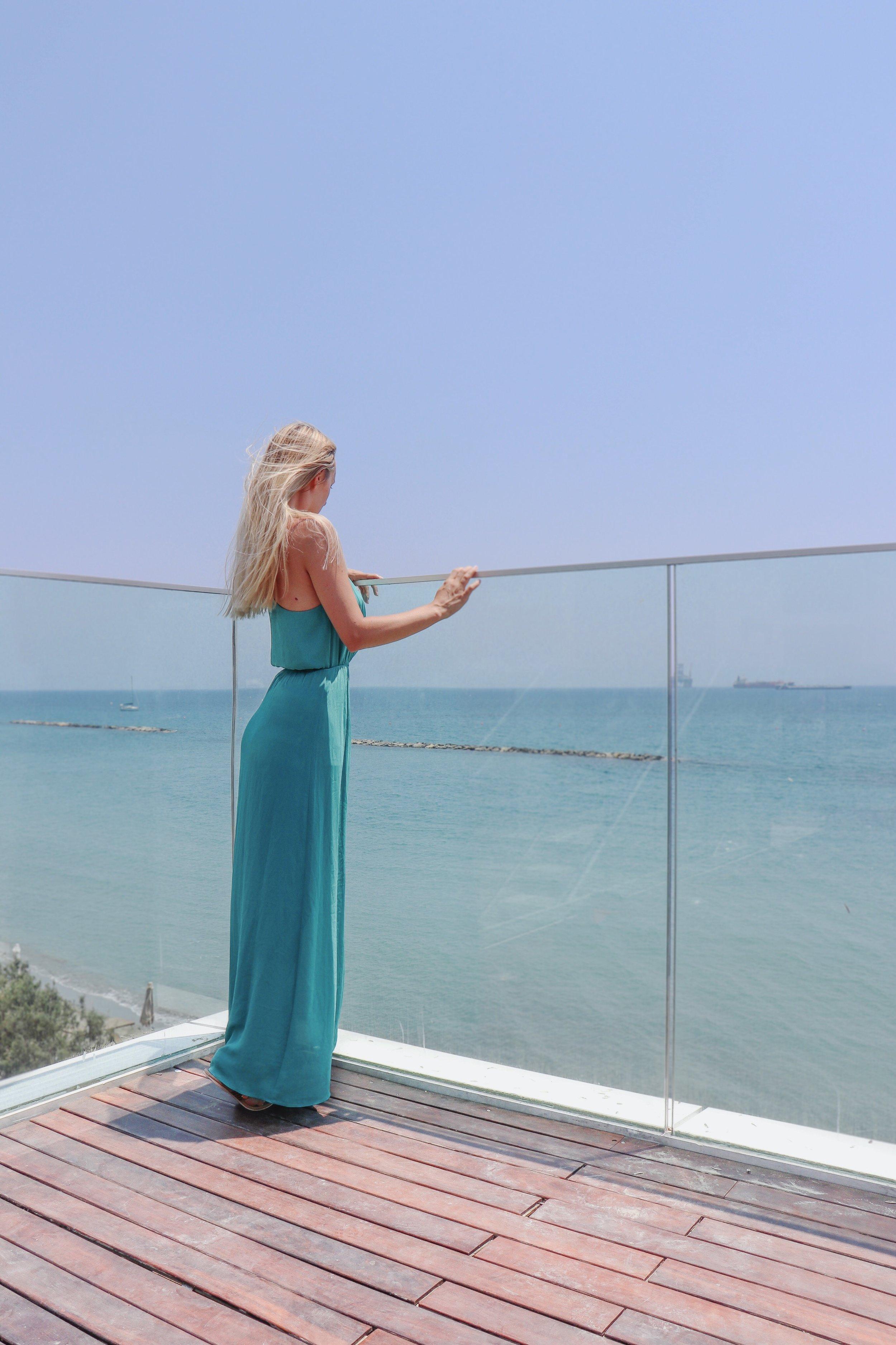 View over Limassol beach