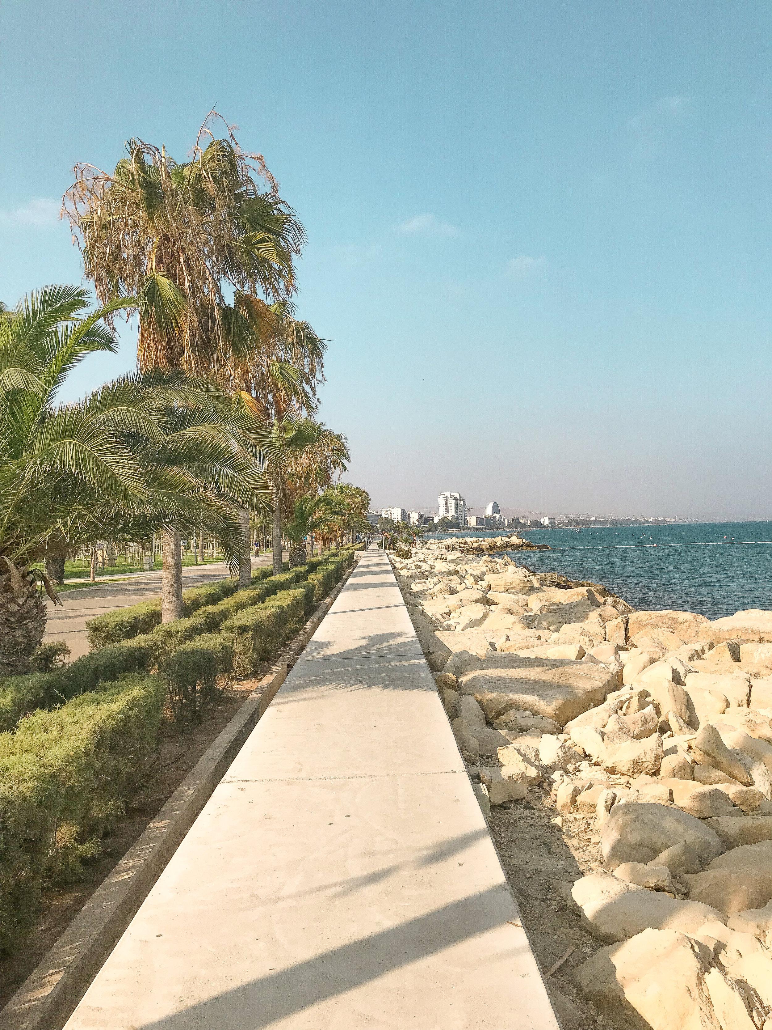 Limassol beach walk www.lindahaggh.com.jpg