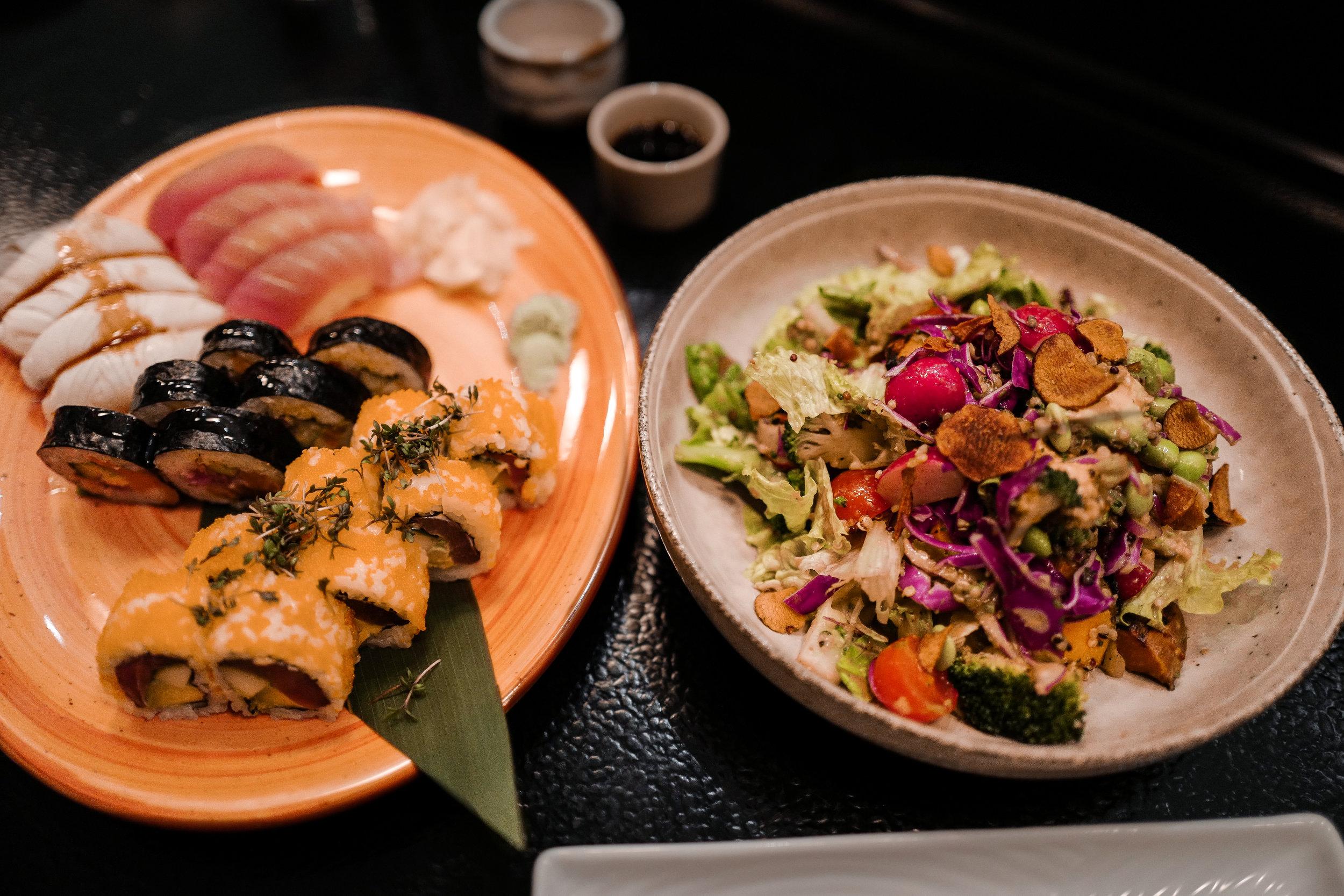 We found a new favorite sushi place - Sticks n Sushi in Copenhagen