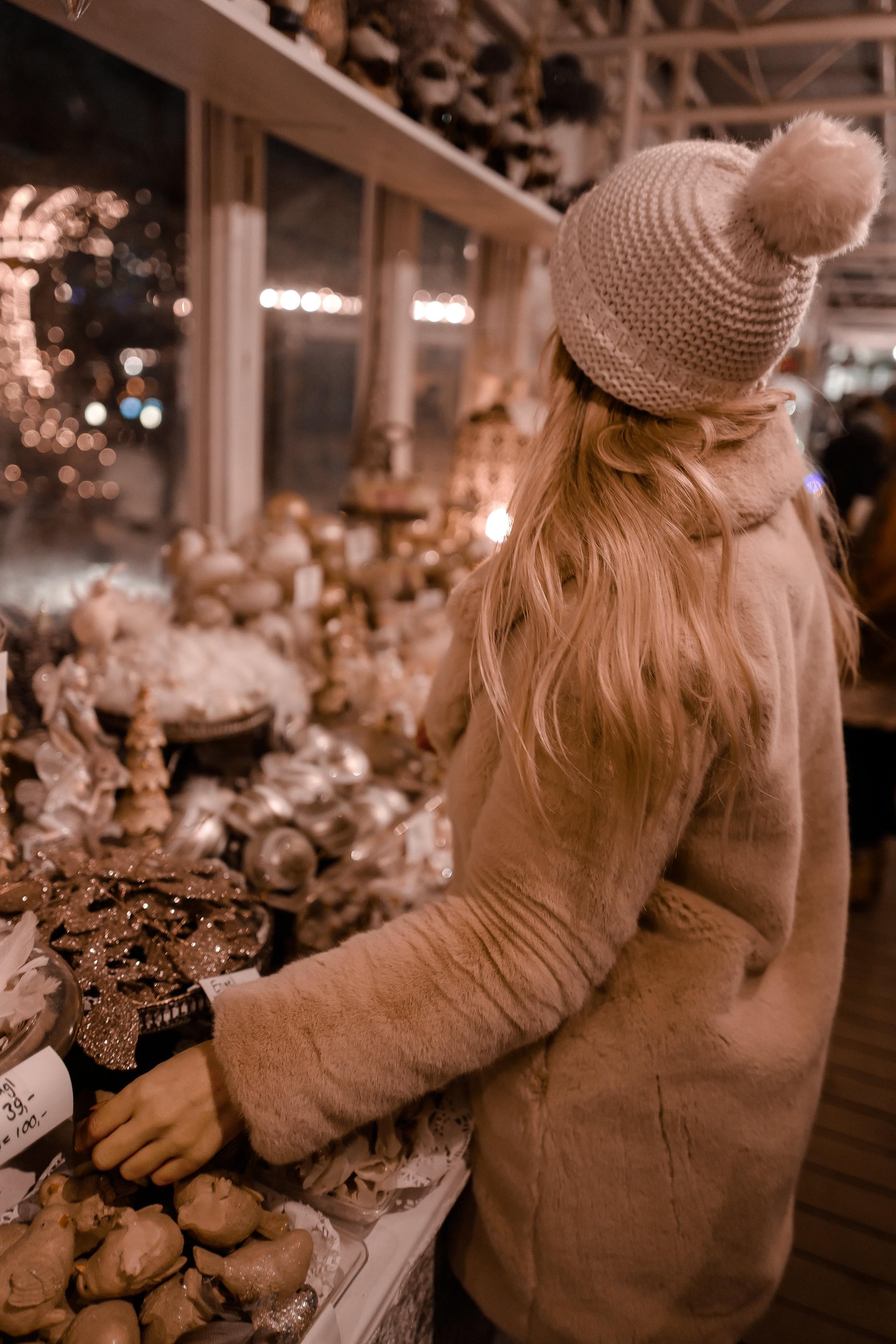 One of the many cute little shops inside The Tivoli Gardens