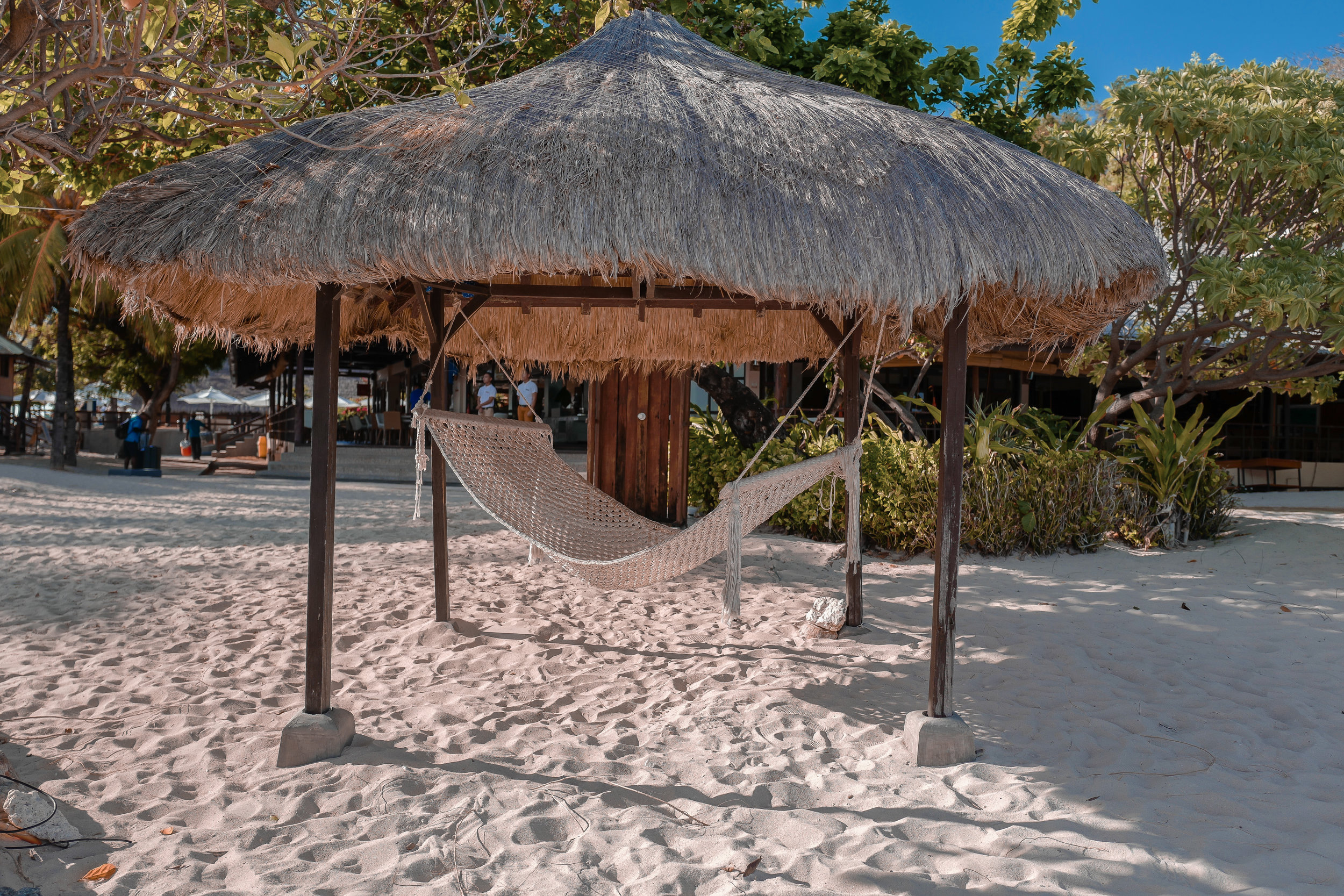 Relaxing spots throughout the island