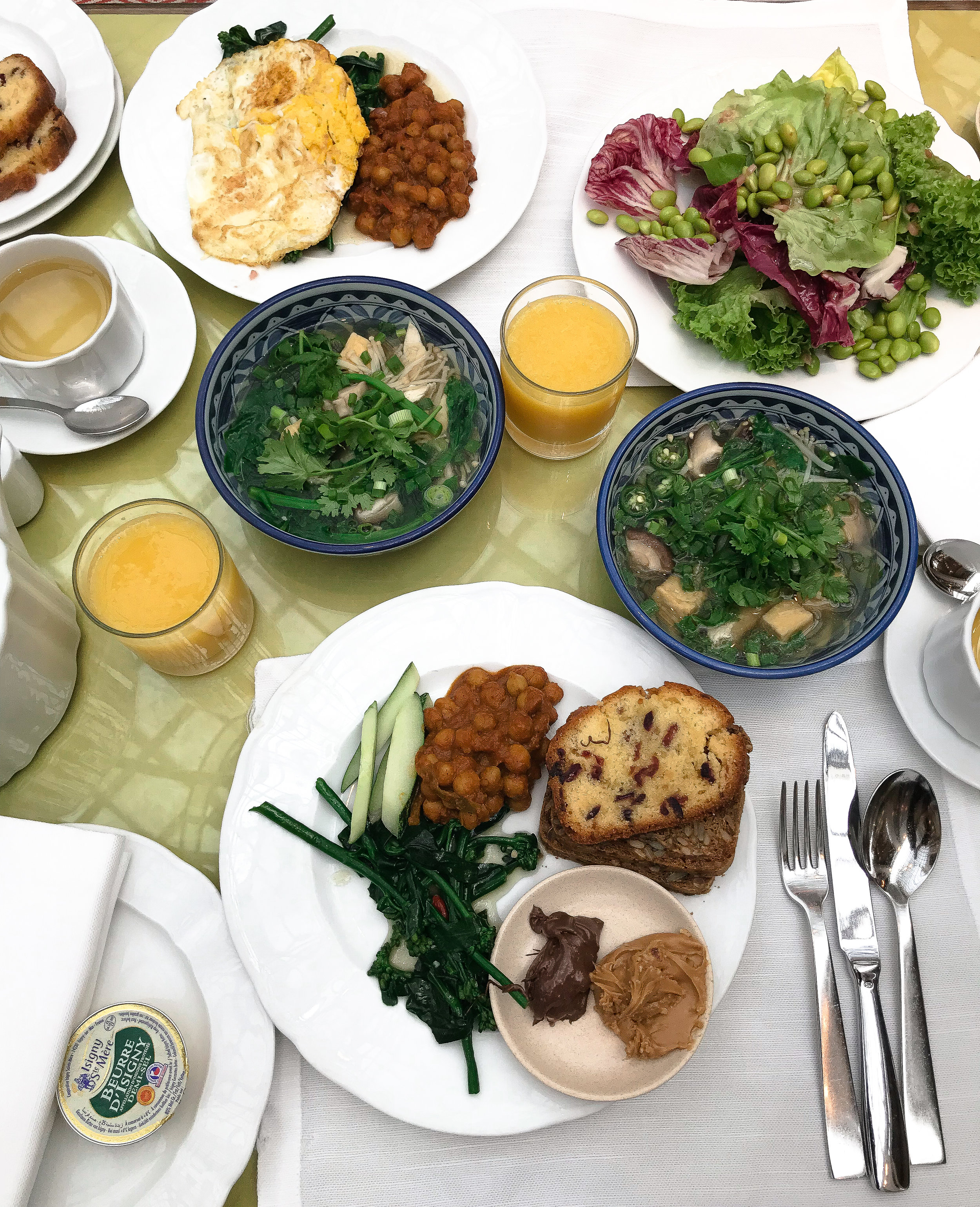 Breakfast mornings at The Ritz Carlton Millenia Singapore