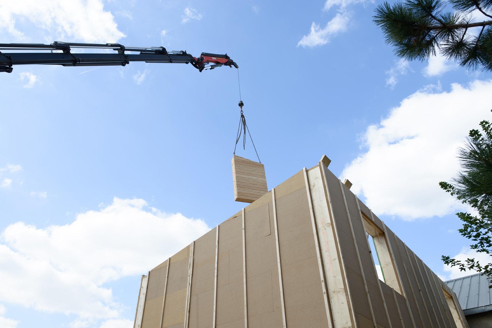 construction hors site Agilcare Maison qui déménage