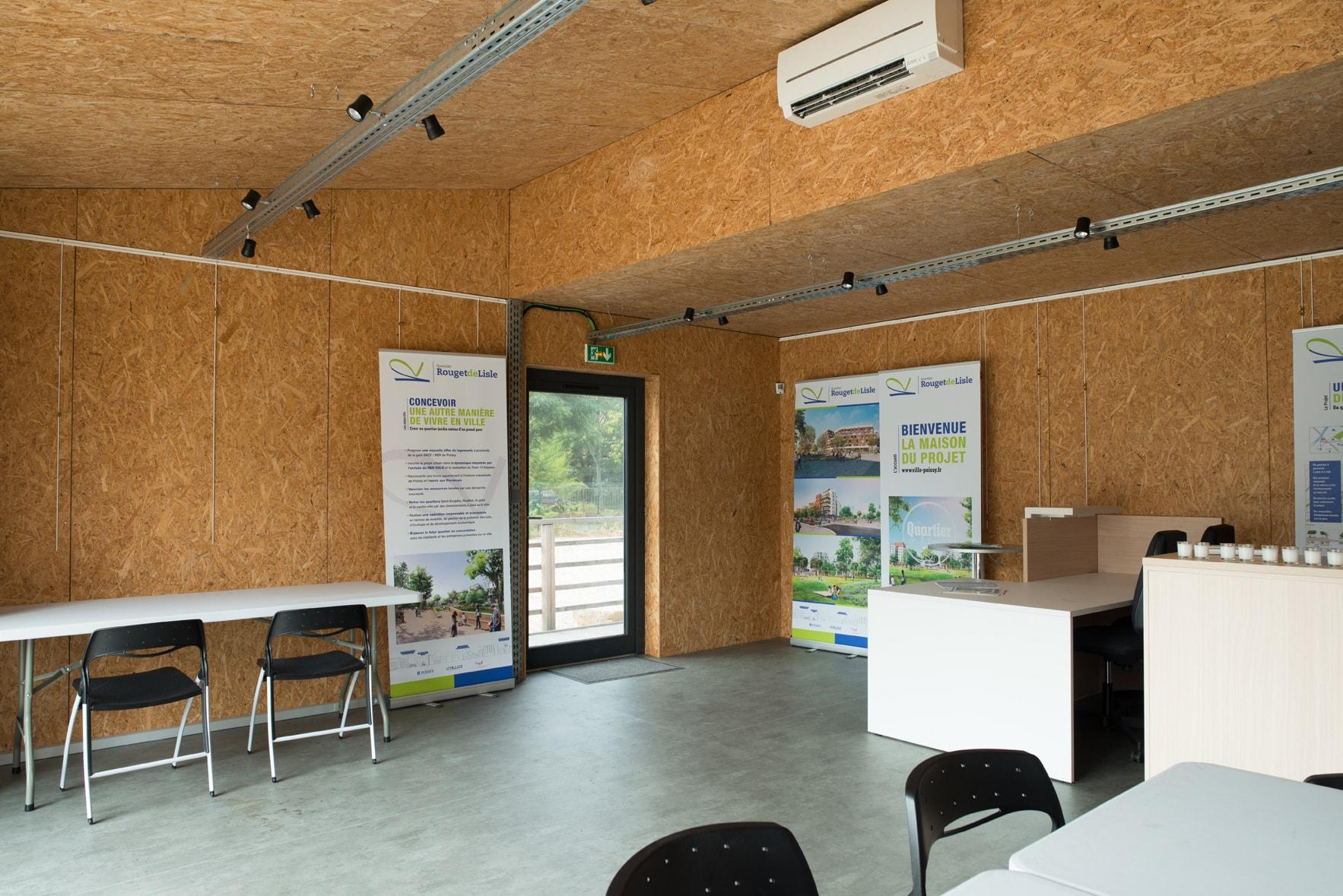 Maison du projet intérieur Poissy Agilcare