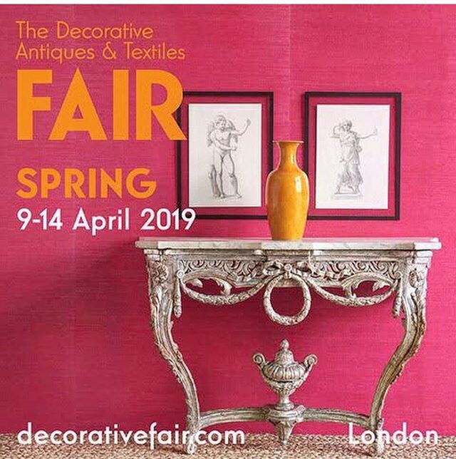 Hot pink for the @decorativefair Spring show-wallcovering @phillipjeffriesltd fab photo by @johnenglefieldphoto assisted by the wonderful Amy Pliszka & @andreab5