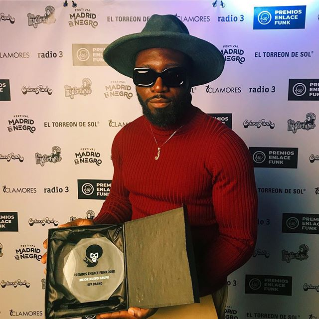 I'm truly humbled to recieve this award for Best New Artist in the category of Soul & Rnb music in Spain. Big thanks to the team at Enlace Funk Magazine , Radio 3 and everyone for the continuous support! Big love 🙏🏿🖤