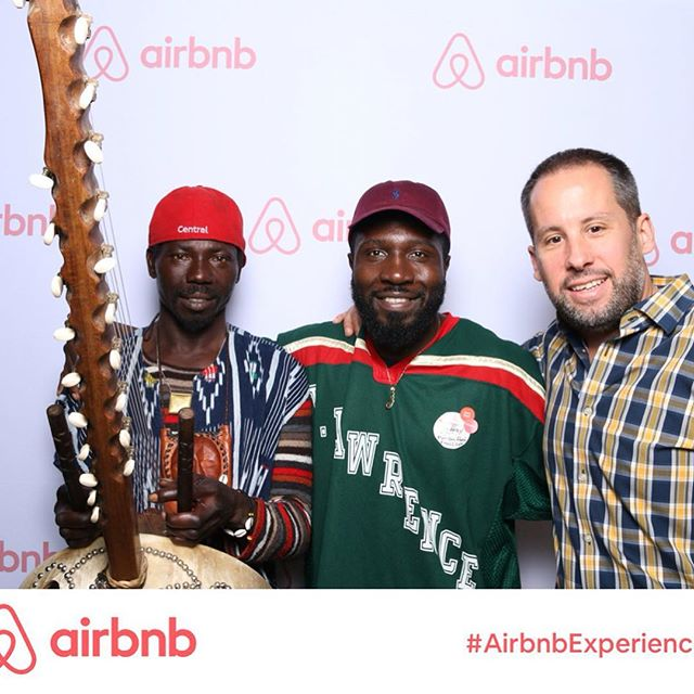 Partnered with @airbnb to help improve the life of the african street sellers of Barcelona through music,food and dance experiences. Big thanks to the entire Airbnb team for supporting the cause. #airbnbexperiences #changelives
