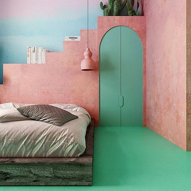@reutovdesign - this page is everything 🤤🤤🤤 godamn... some people have allllllll the talent 😍 . . . . . . #interiordesign #nycinteriordesign #colortherapy #contemporaryart #commissionsopen #lisaryanstudio #fightlikeagirl #💃🏼