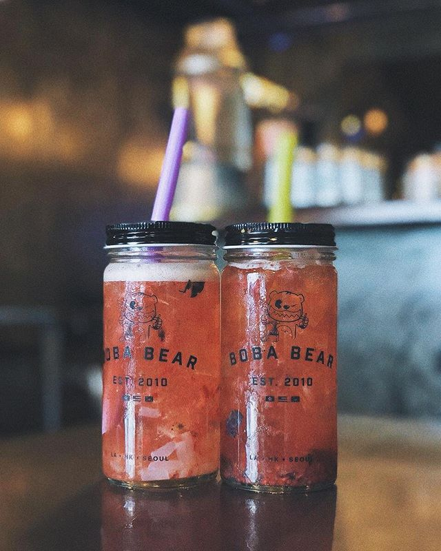 It's #sundayfunday. We don't have bottomless mimosas but we definitely got tons of #boba and #soju pitchers to satisfy your #thirst. Let's finish this weekend off with a good one!🌞