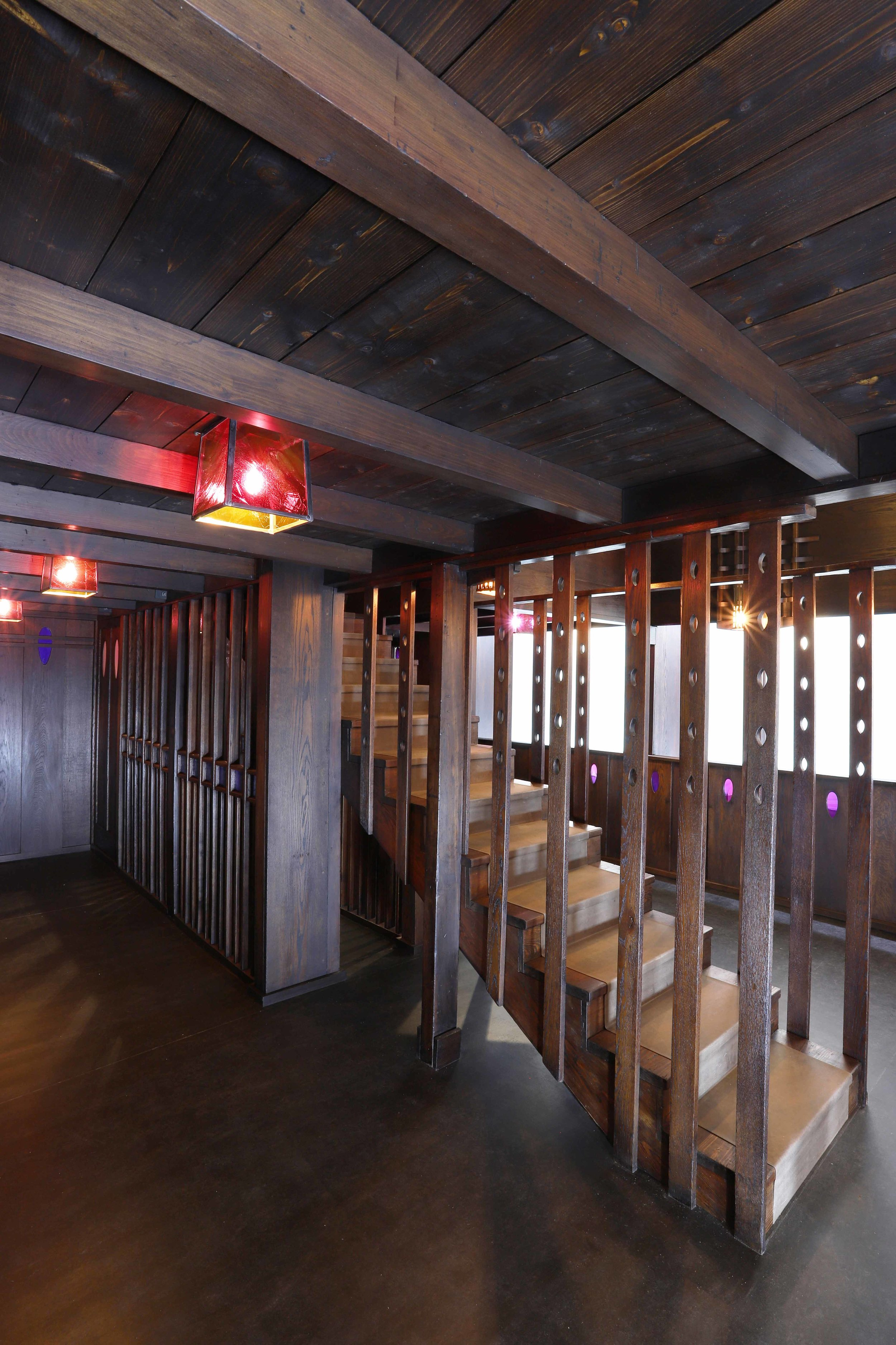 Reconstruction and conservation of Charles Rennie Mackintosh tea room for the V&A Museum Dundee.