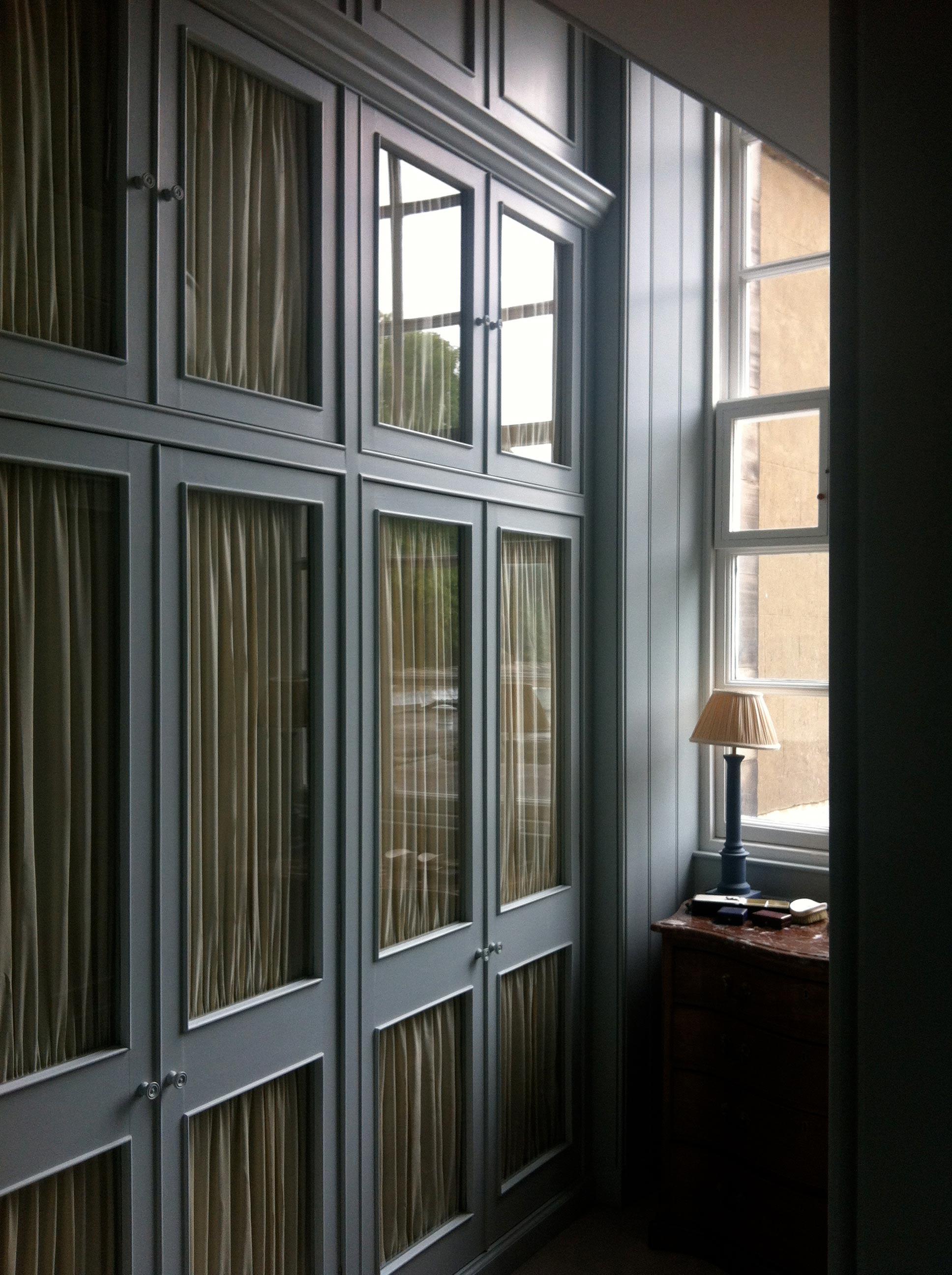 Bespoke wardrobe scheme, historic house, West Lothian.