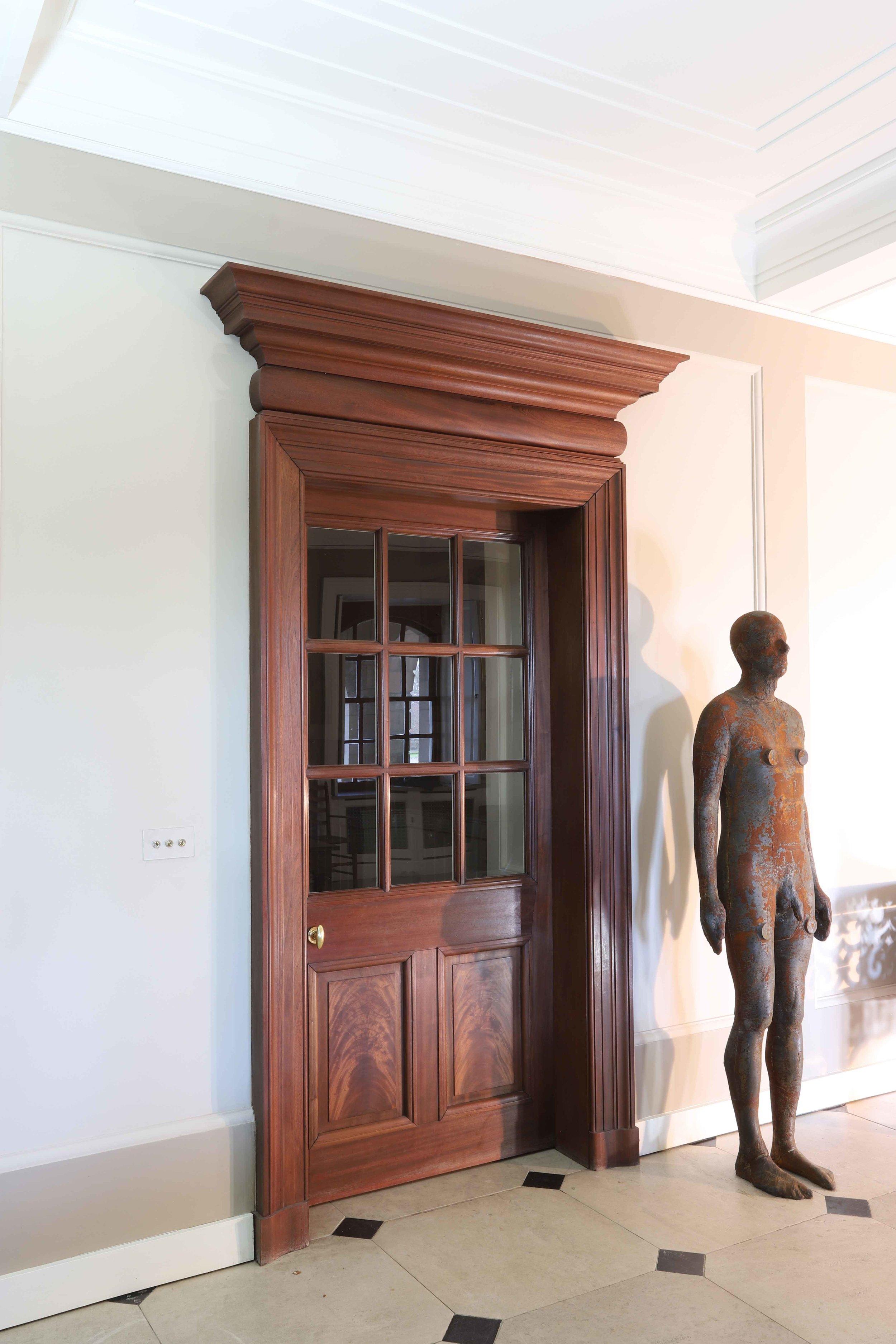 Reproduction Robert Lorimer door scheme, Marchmont house.