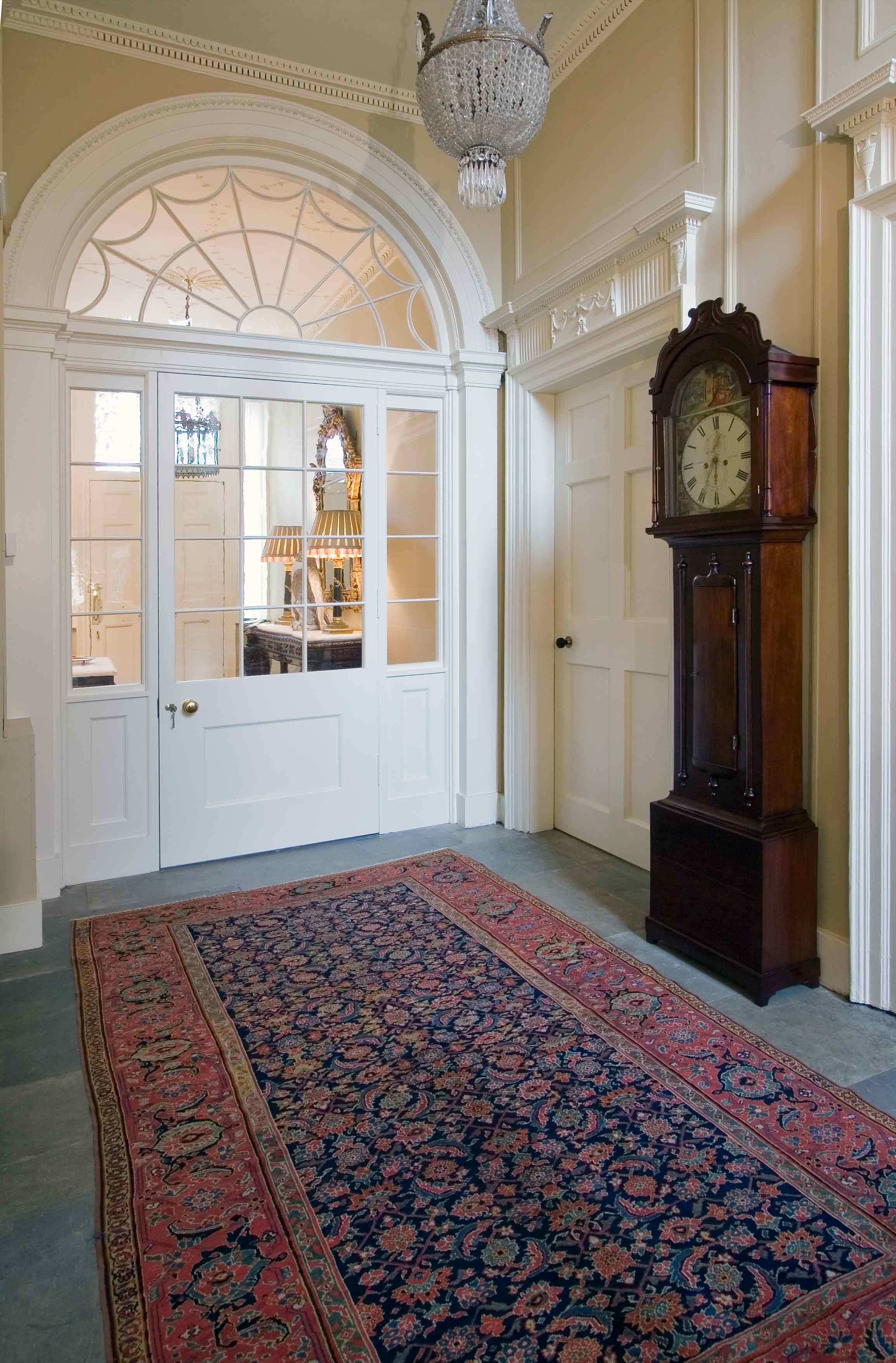 Door screen with arched fanlight, Midlothian.