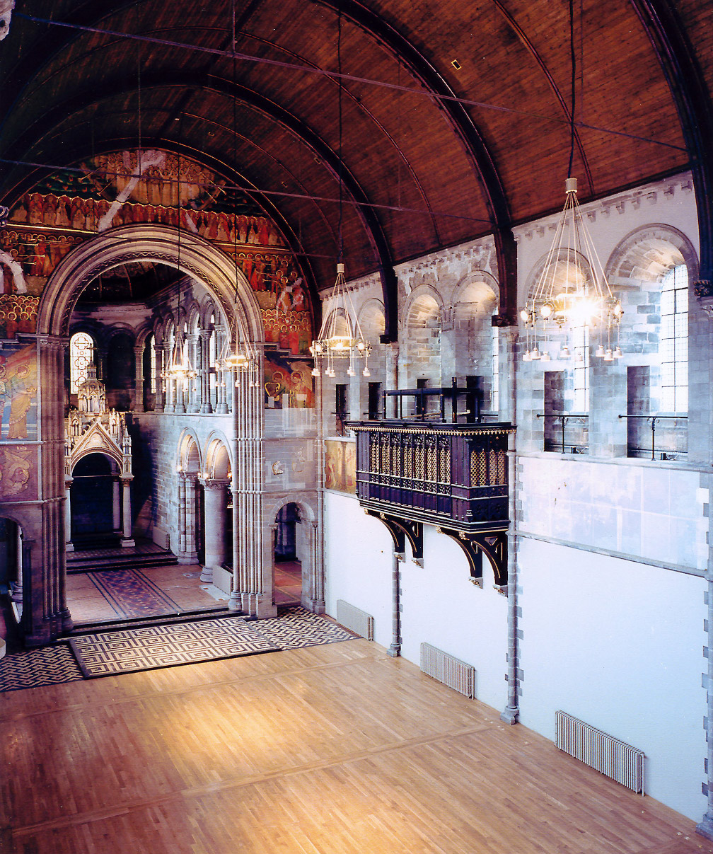 Rebuild and conservation of organ housing, Mansfield Traquair, Edinburgh.