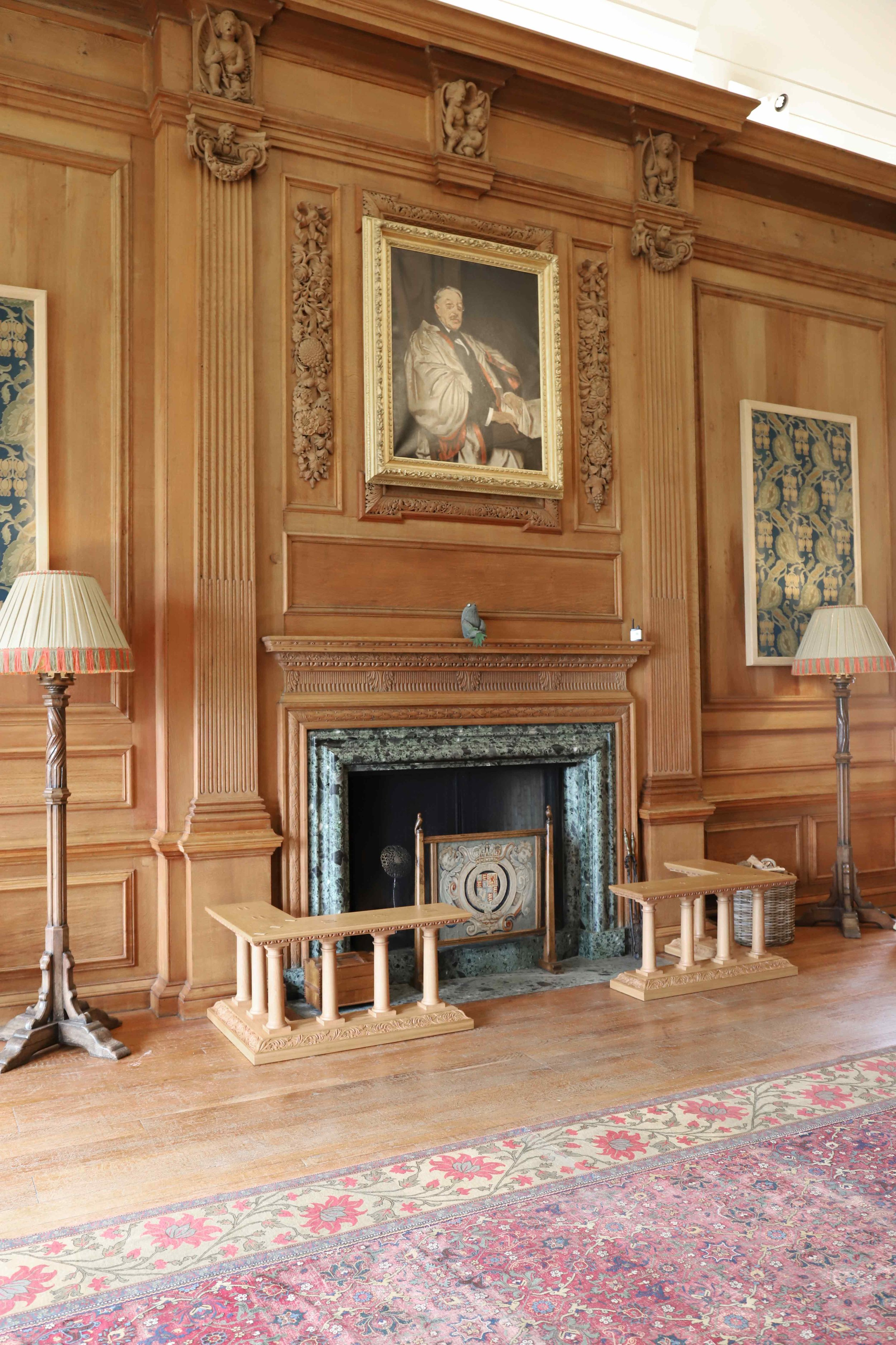 Bespoke Fenders for the music room, Marchmont House, Greenlaw.