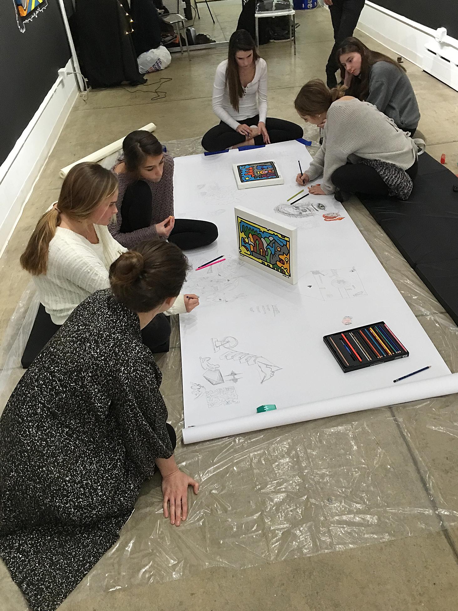Creativity workshops at Filo Sofi Arts a Lower East Side Gallery