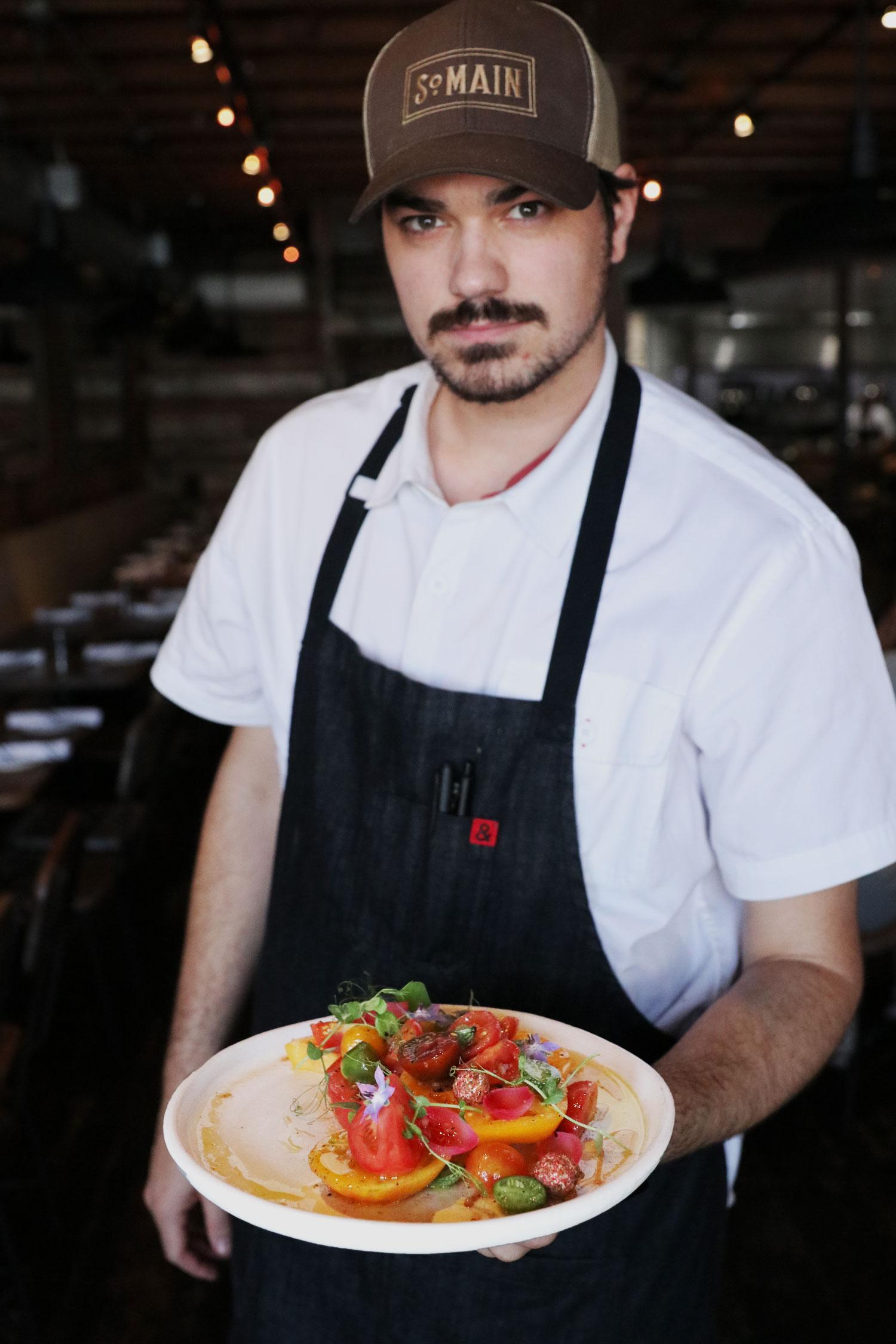 Heirloom Tomato Plate