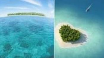 Moorea, Heart shaped Island in the Pacific. The divine feminine portal