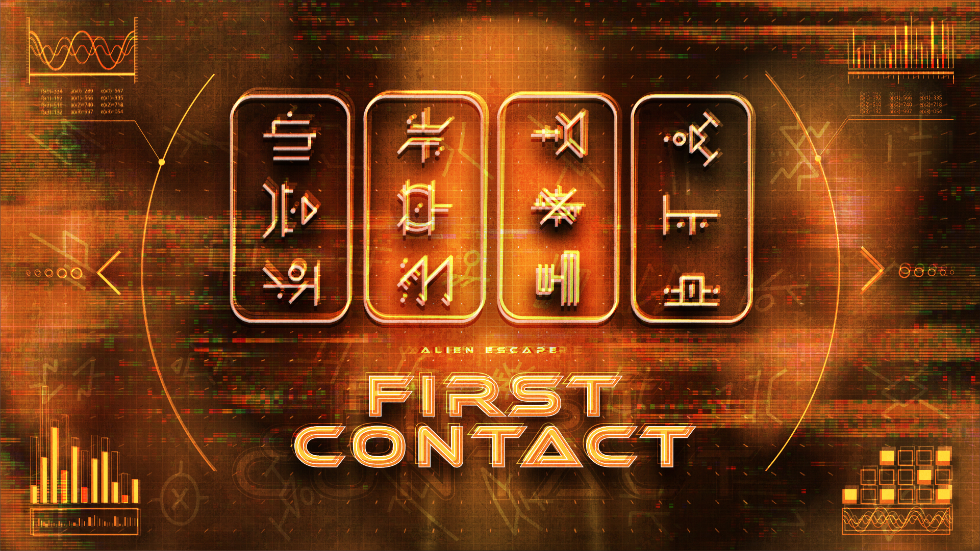 FIRST CONTACT - OPEN NOW AT THE GATEAn unknown alien has landed on Earth. Unfortunately this first contact is not friendly and it is capturing humans for sport. You wake up in a containment chamber and must escape before the alien returns and skins you as yet another trophy.