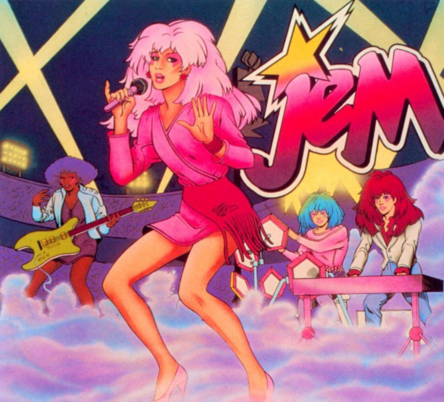 Jem jams and so do I. Also, Jem isn't creaky.
