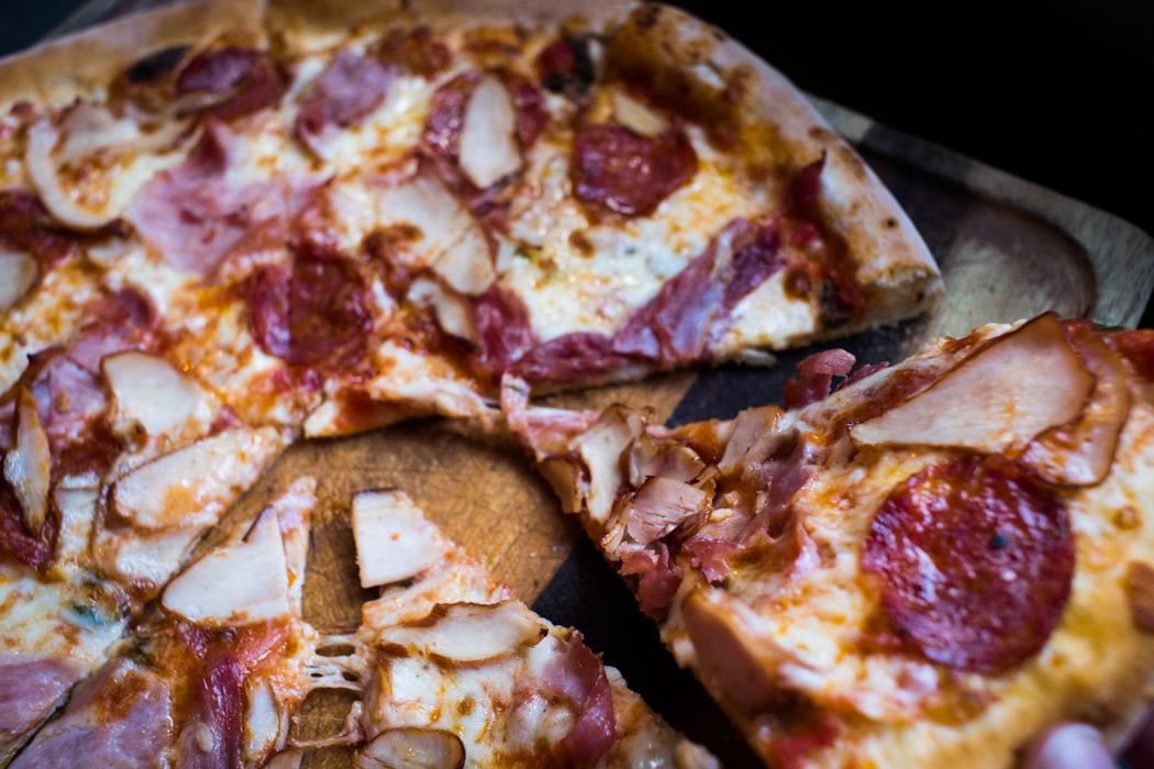 MEATY - Pepperoni, Smoked Chicken, Pancetta