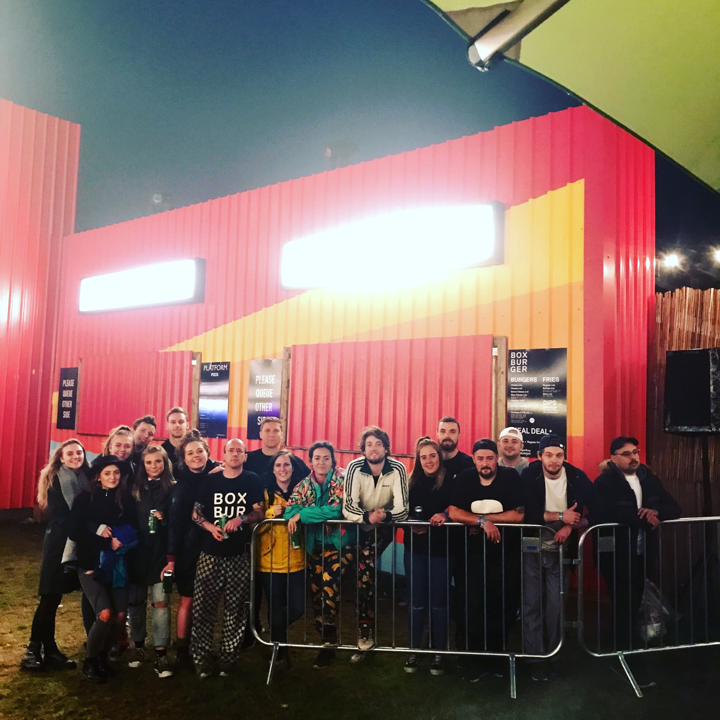Team Box Burger & Platform Pizza at Electric Picnic 2018 -