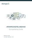 Atempo-Digital Archive Compatibility Guide