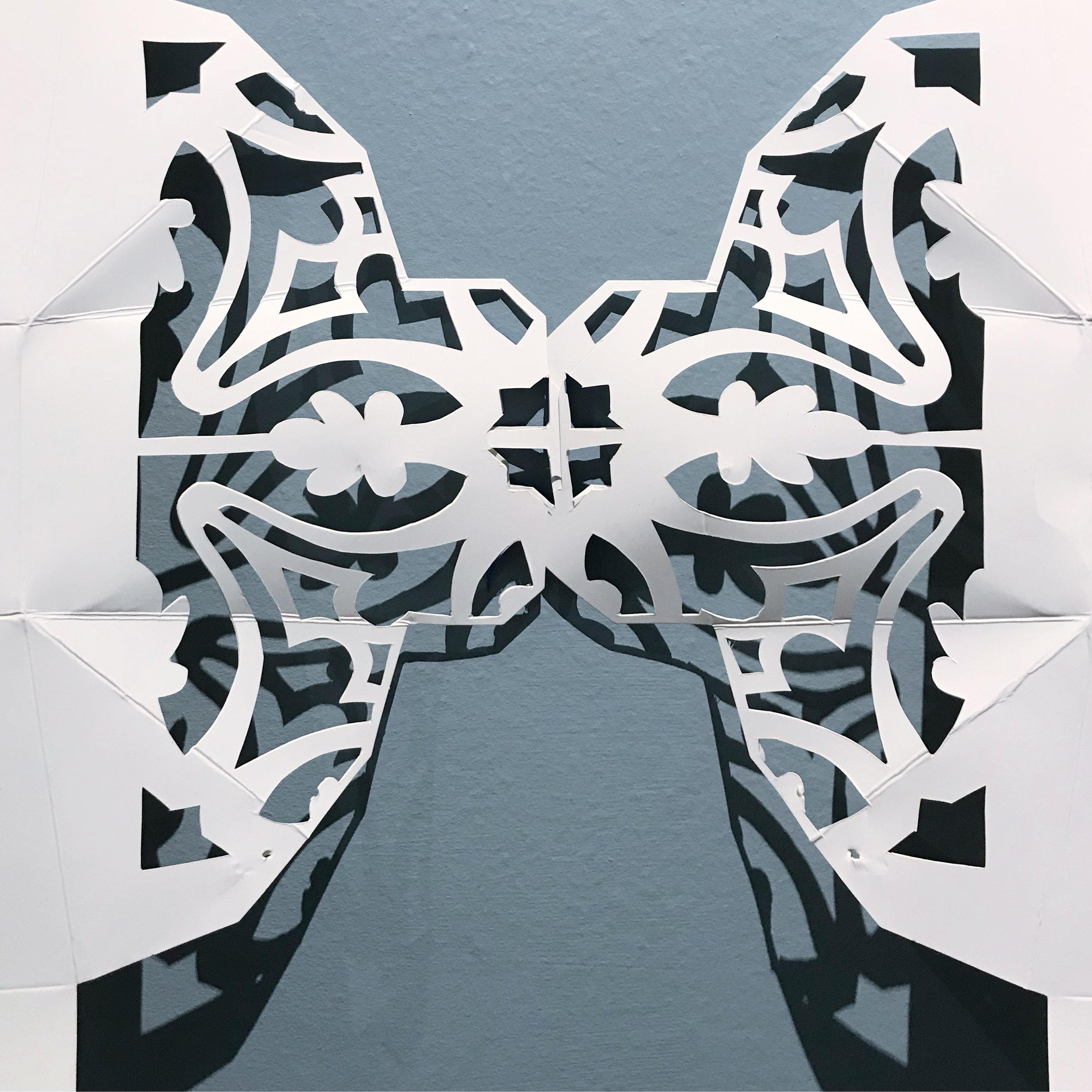 Take Away (Double Mariposa), Detail