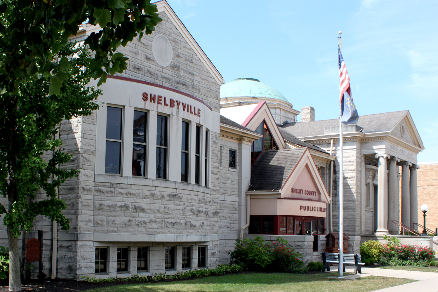 Shelby County Public Library; Shelbyville, IN