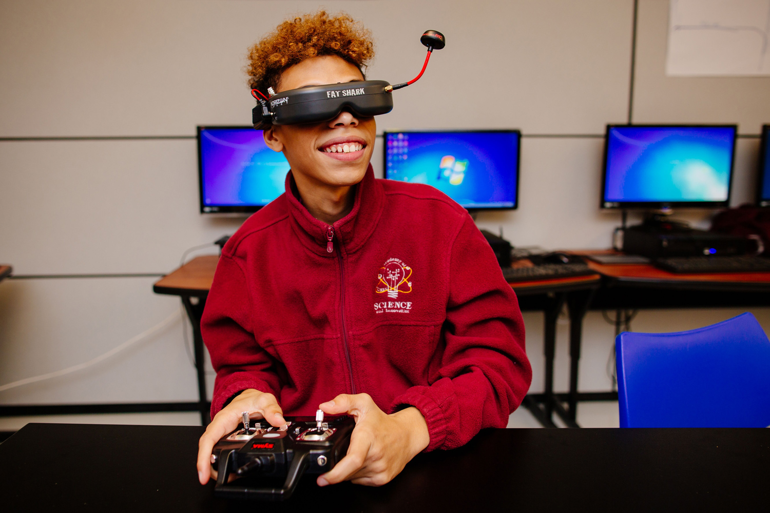 Student Drone Racing