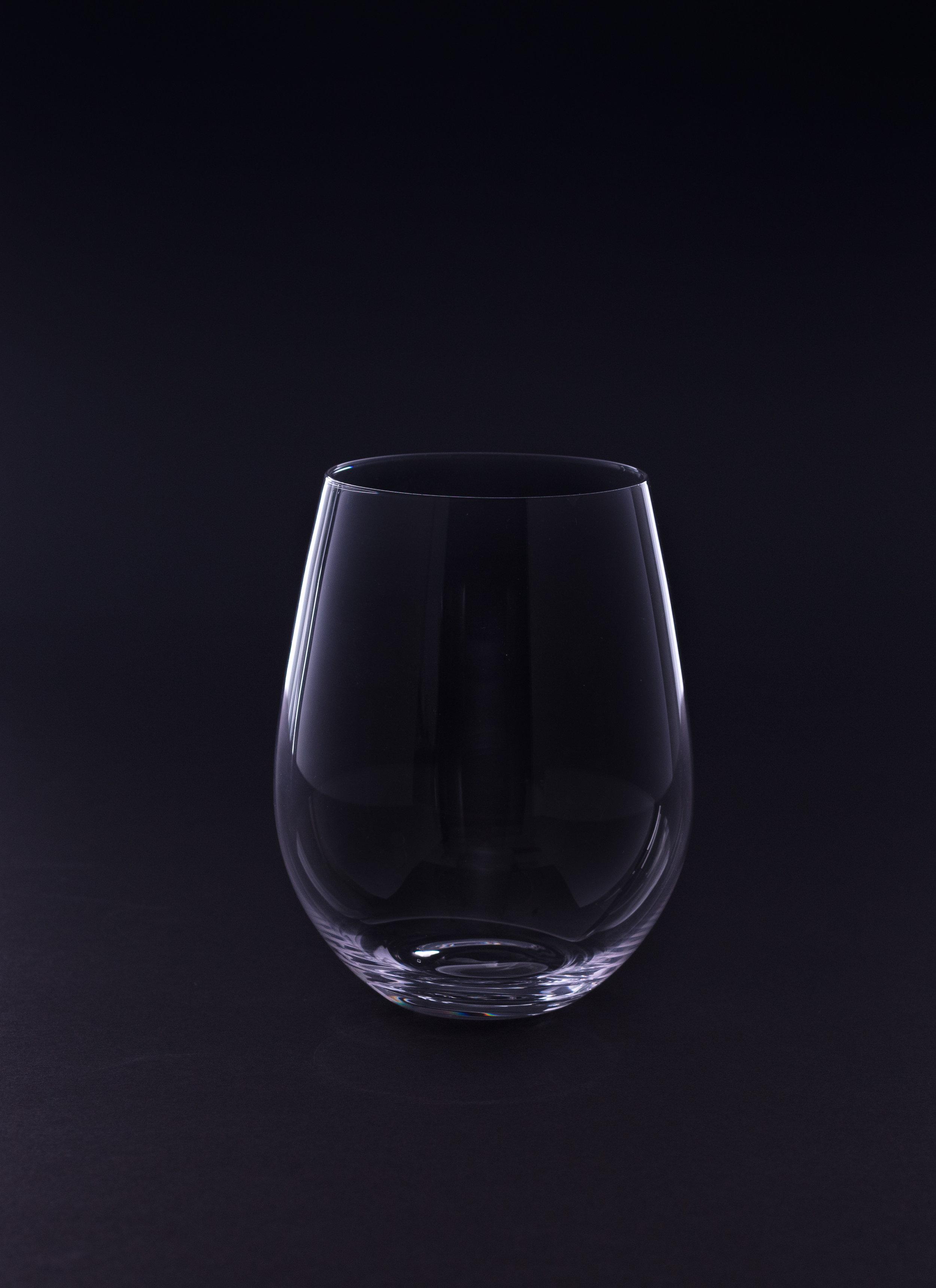 Stemless Red Wine Glass - 21 oz. Crystal
