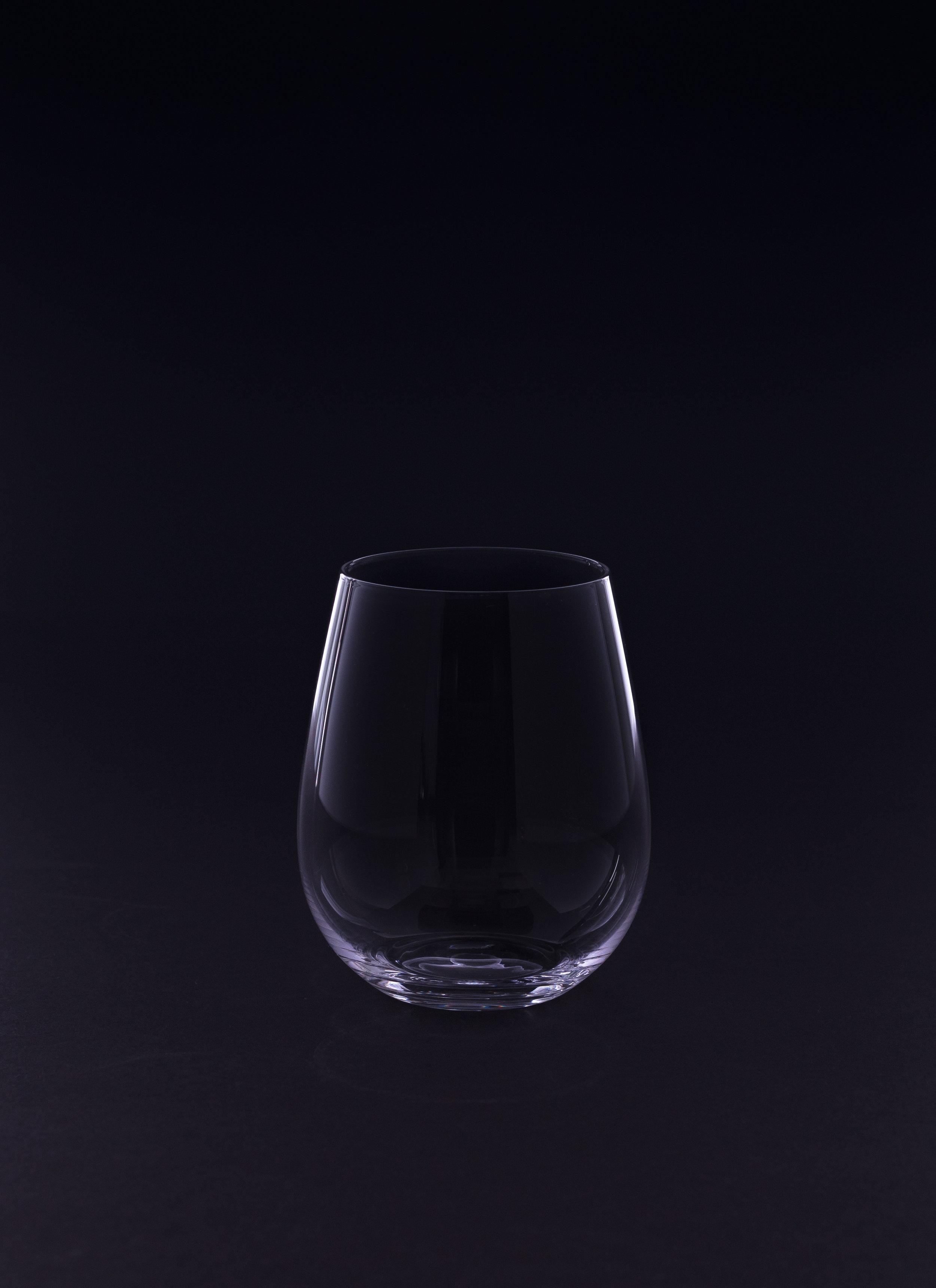 Stemless White Wine Glass - 12.5 oz. Crystal