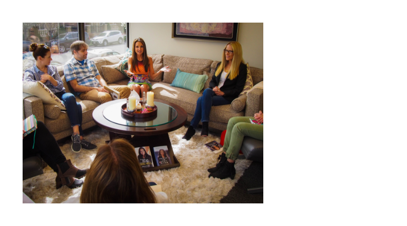 Small Groups - Small group readings allow me to do what I do best—connect the living with spirits on the other side. Throughout these two-hour sessions, I can pass on profound and healing messages directly from your deceased loved ones in a safe, supportive and intimate setting. Learn more.
