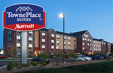 TownePlace Suites by Marriott - 2800 W Wyatt Earp, Dodge City, KS620-371-7171Stay & Play Rate $129 plus tax