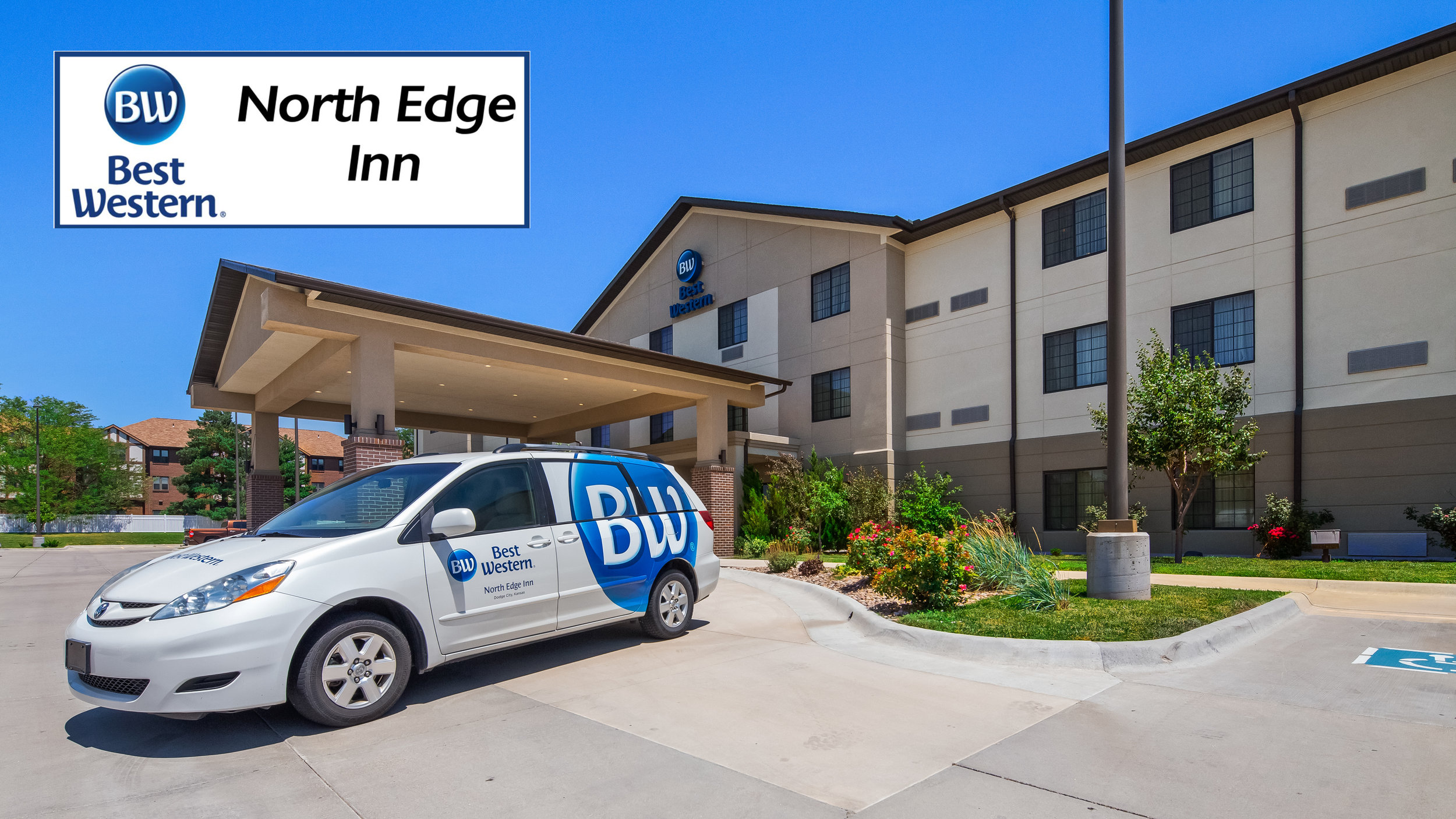 Best Western North Edge Inn - 404 W. Frontview Dr., Dodge City, KS620-371-6441Stay & Play Rate $139.99 plus tax