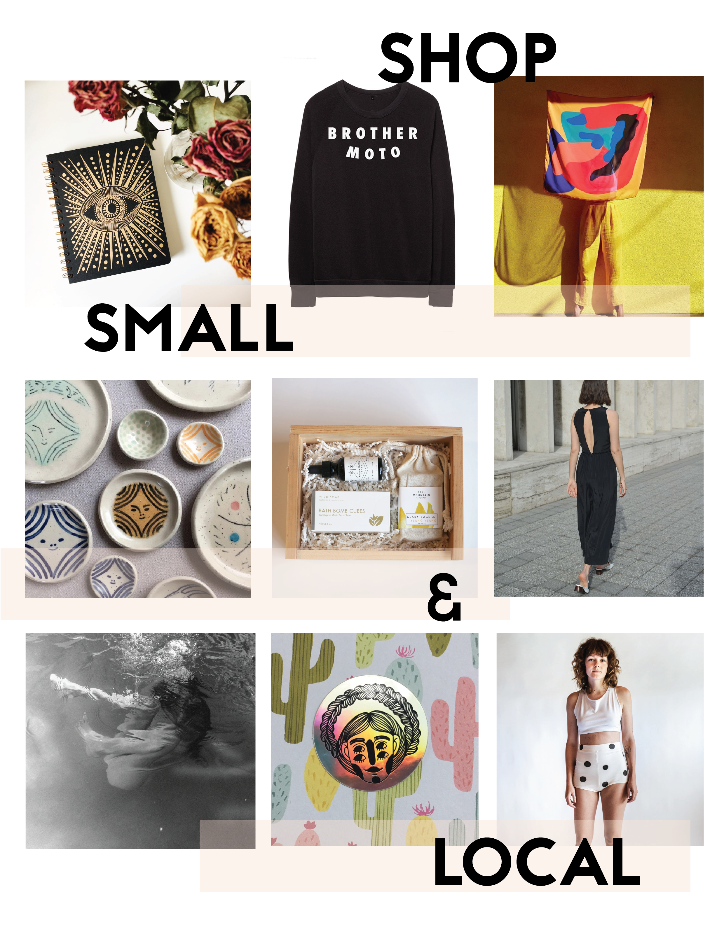 Images above not owned by Sad Girl Collective. Please visit tagged links and #shopsmall.