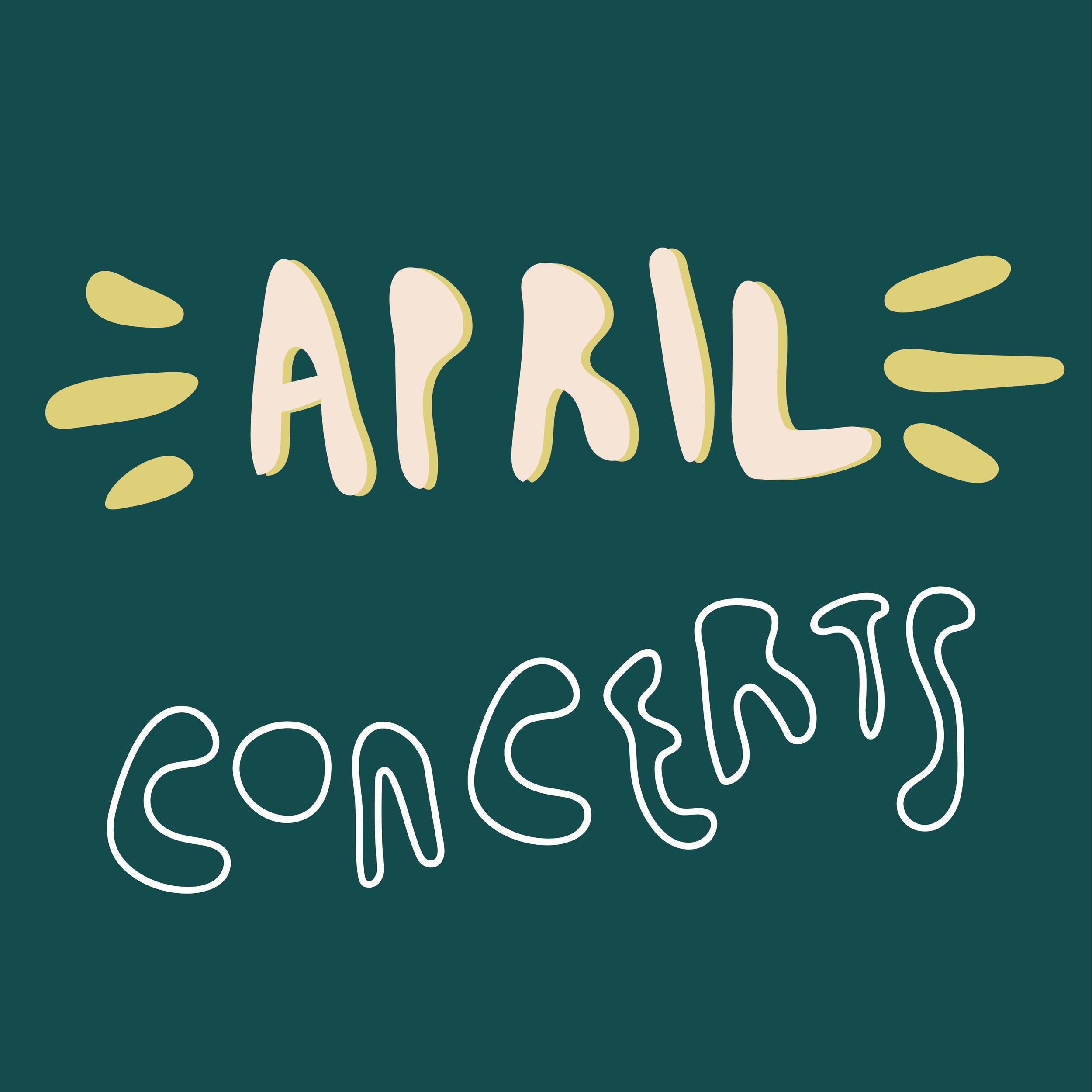 Concert Guide: April