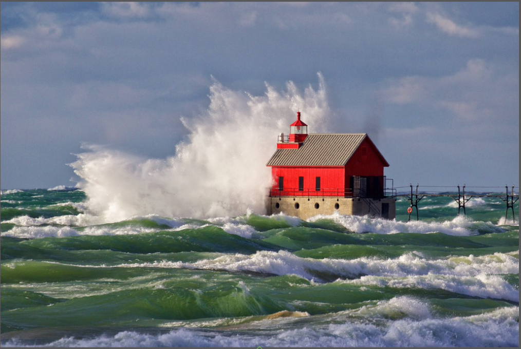Jim's talent for capturing the beauty of Lake Michigan is astounding.