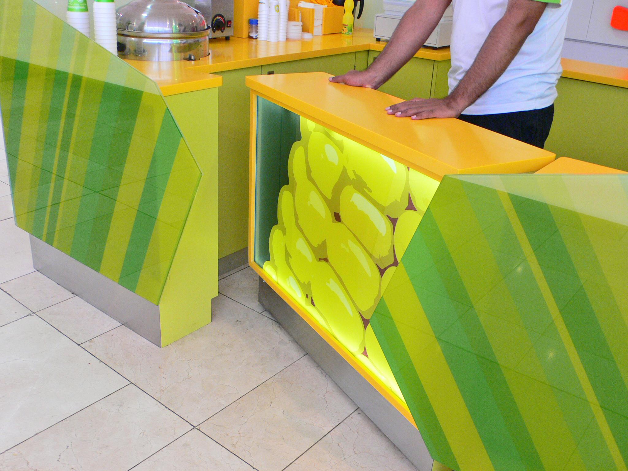 Magic Corn Kiosk Retail Design Westfield