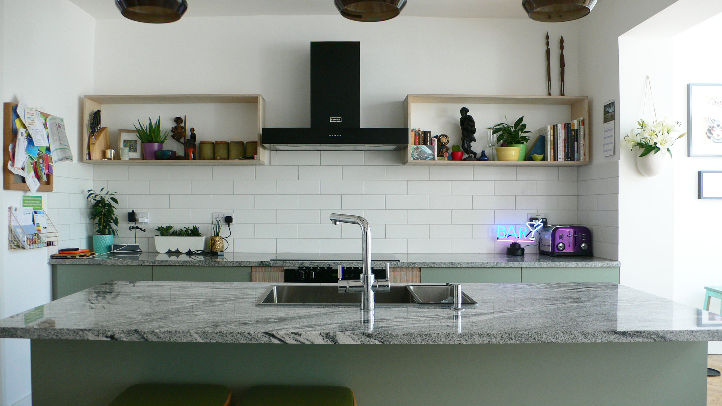 bespoke kitchen walthamstow east london e17 marble