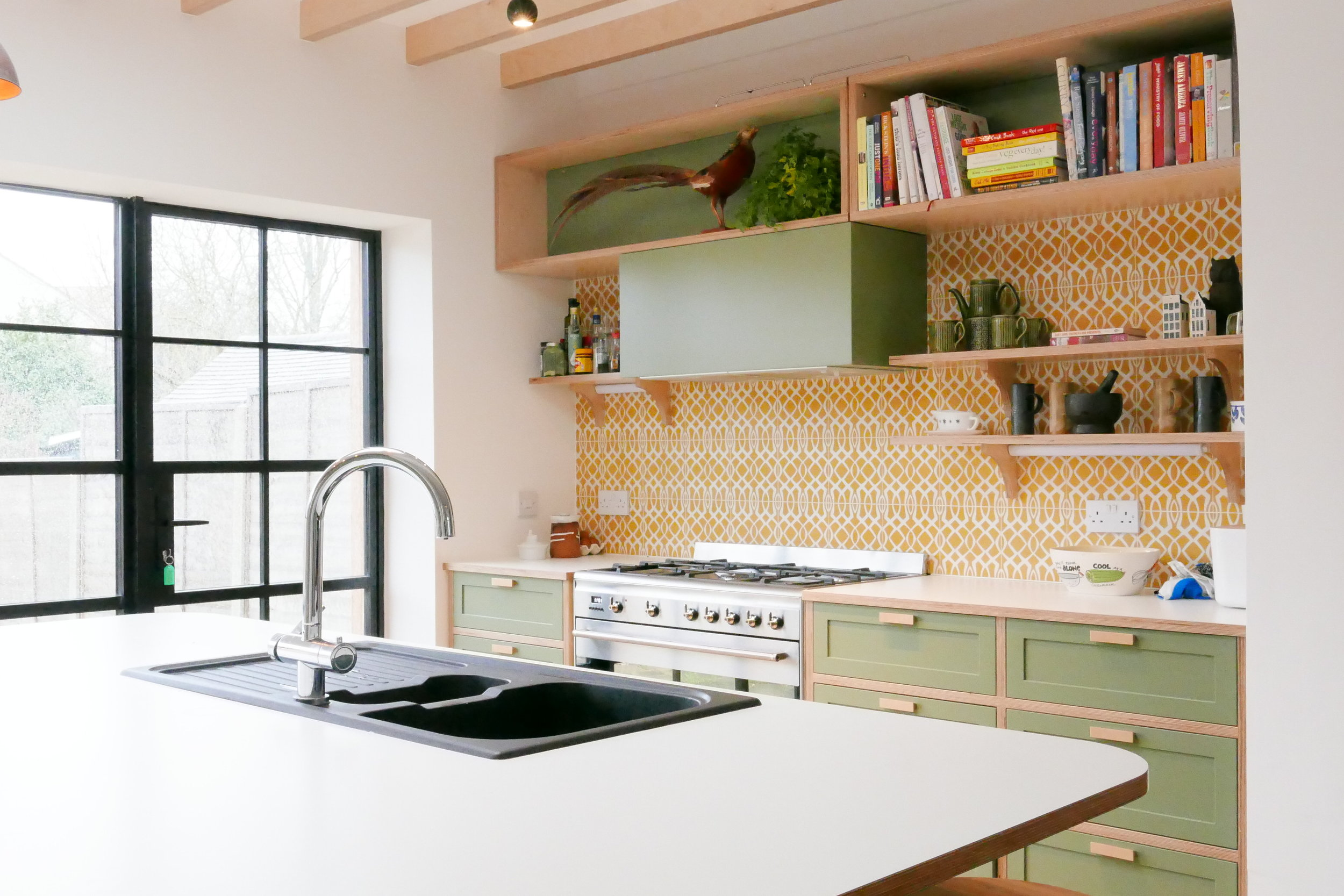 Bespoke Kitchen Design Extension Upper Walthamstow E17