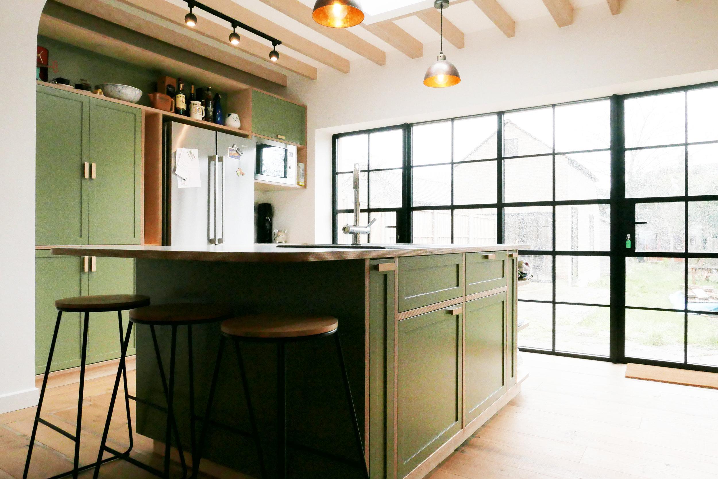 Bespoke Kitchen Design Build Walthamstow E17