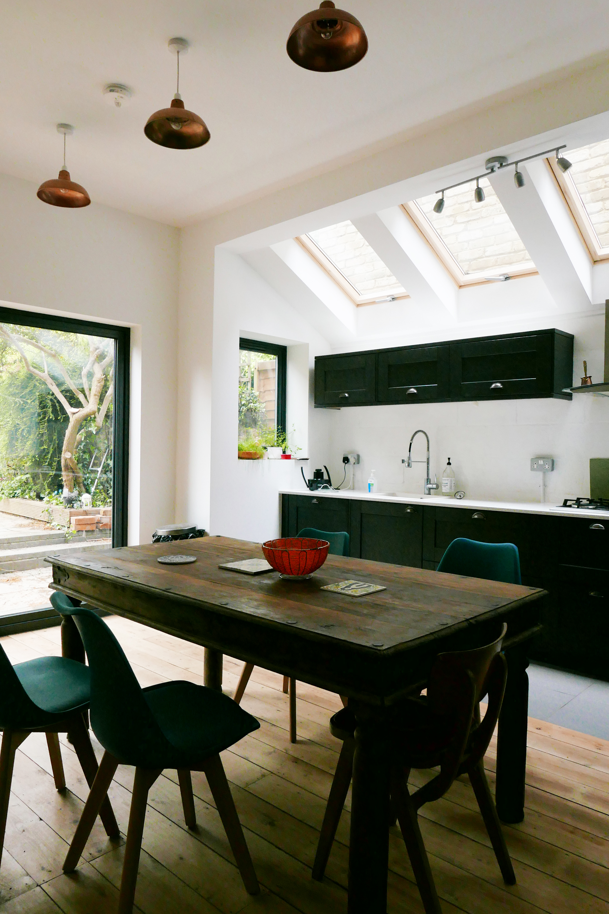Orford Road Kitchen Extension Velux Windows Architect E17 Walthamstow Village