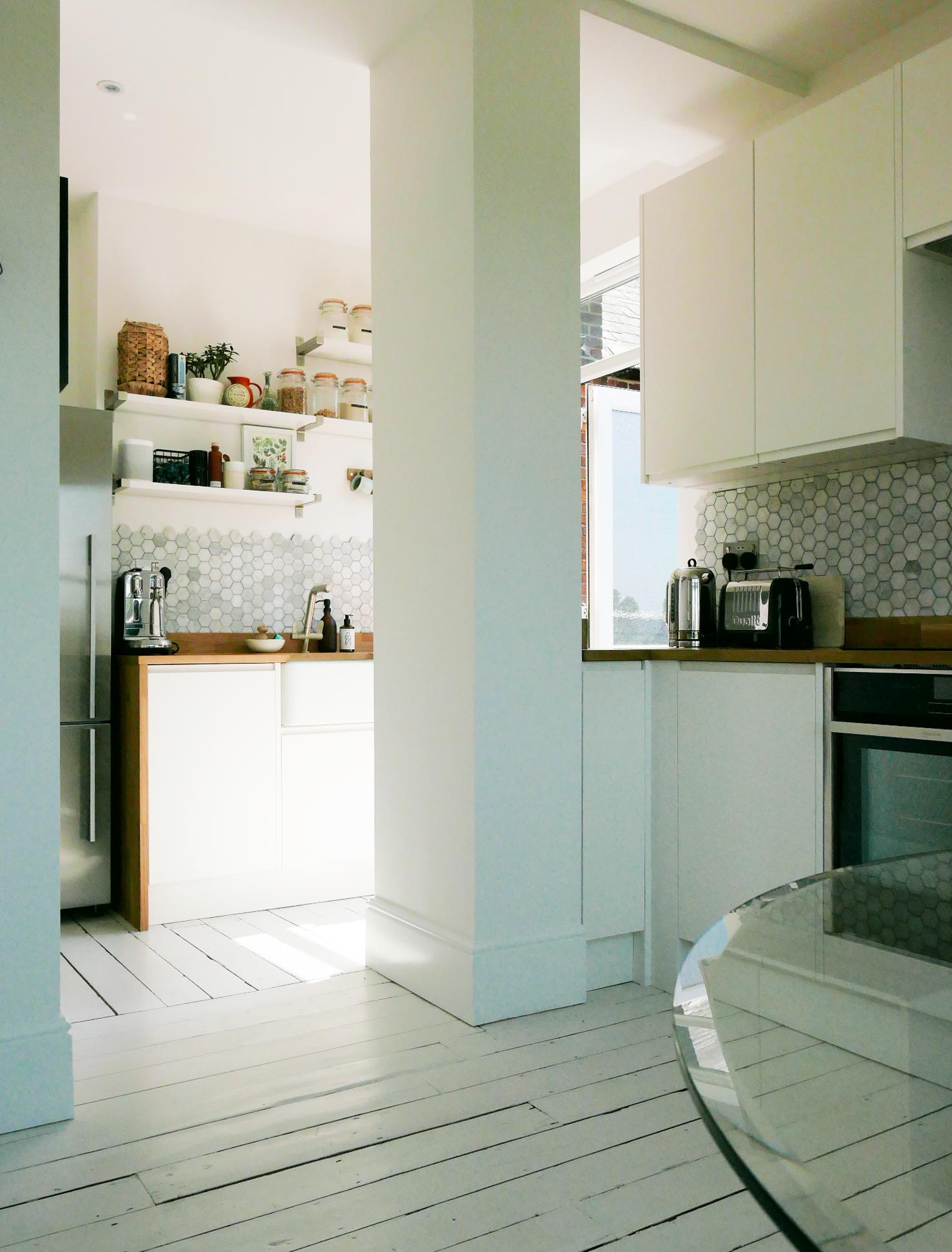 warner flat walthamstow bespoke kitchen archway